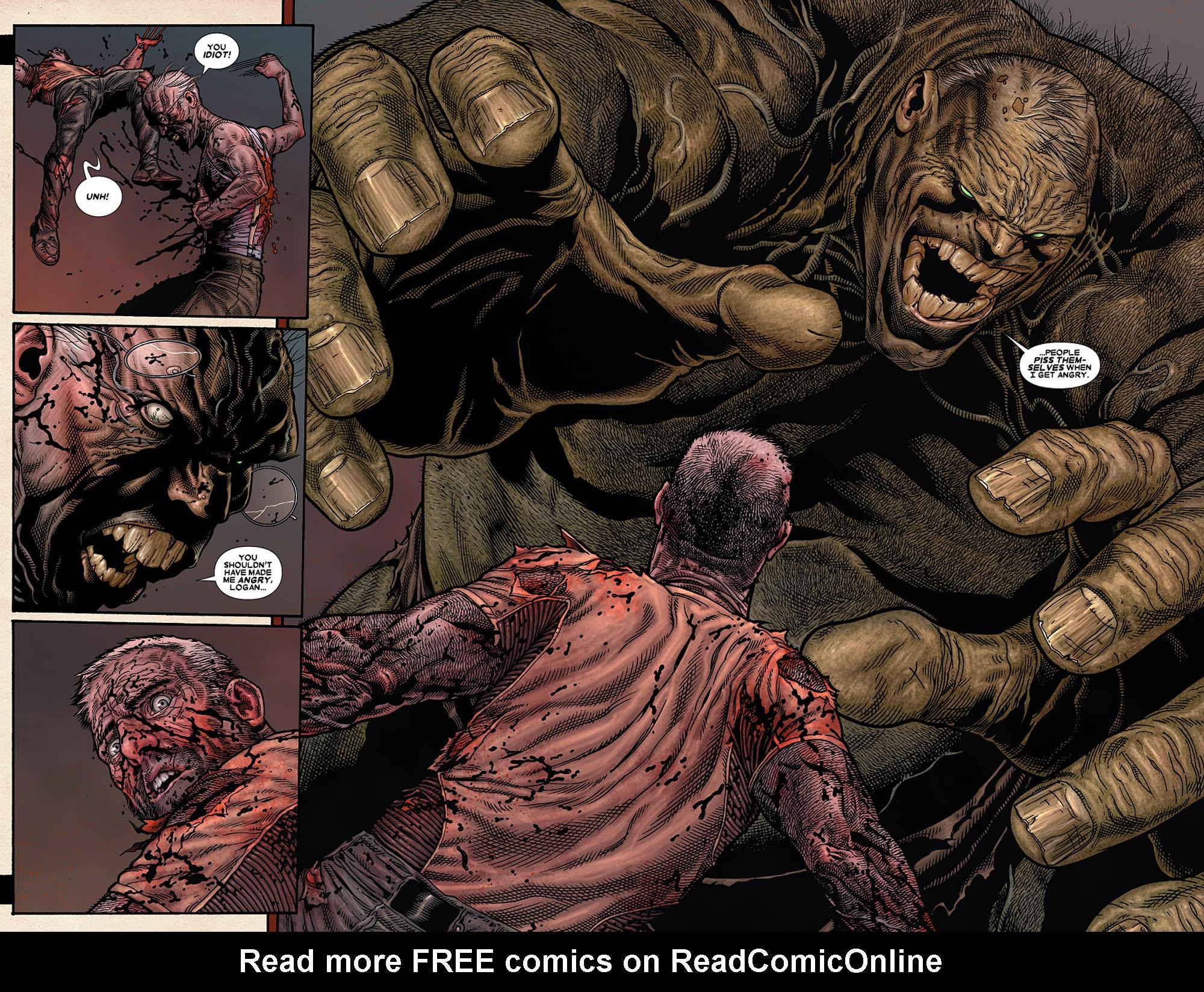 Read online Wolverine: Old Man Logan comic -  Issue # Full - 185