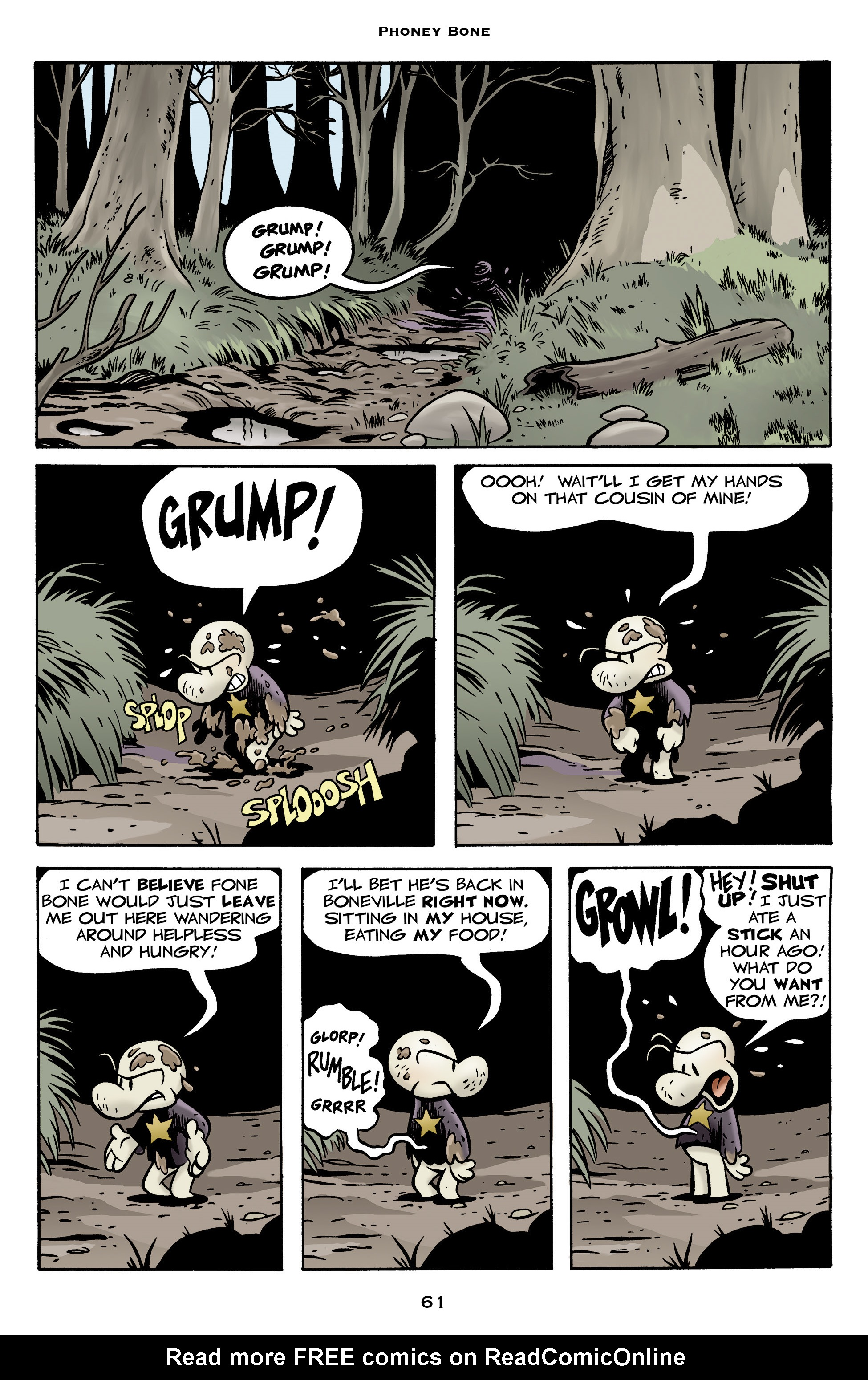Read online Bone: Out From Boneville comic -  Issue # TPB - 61