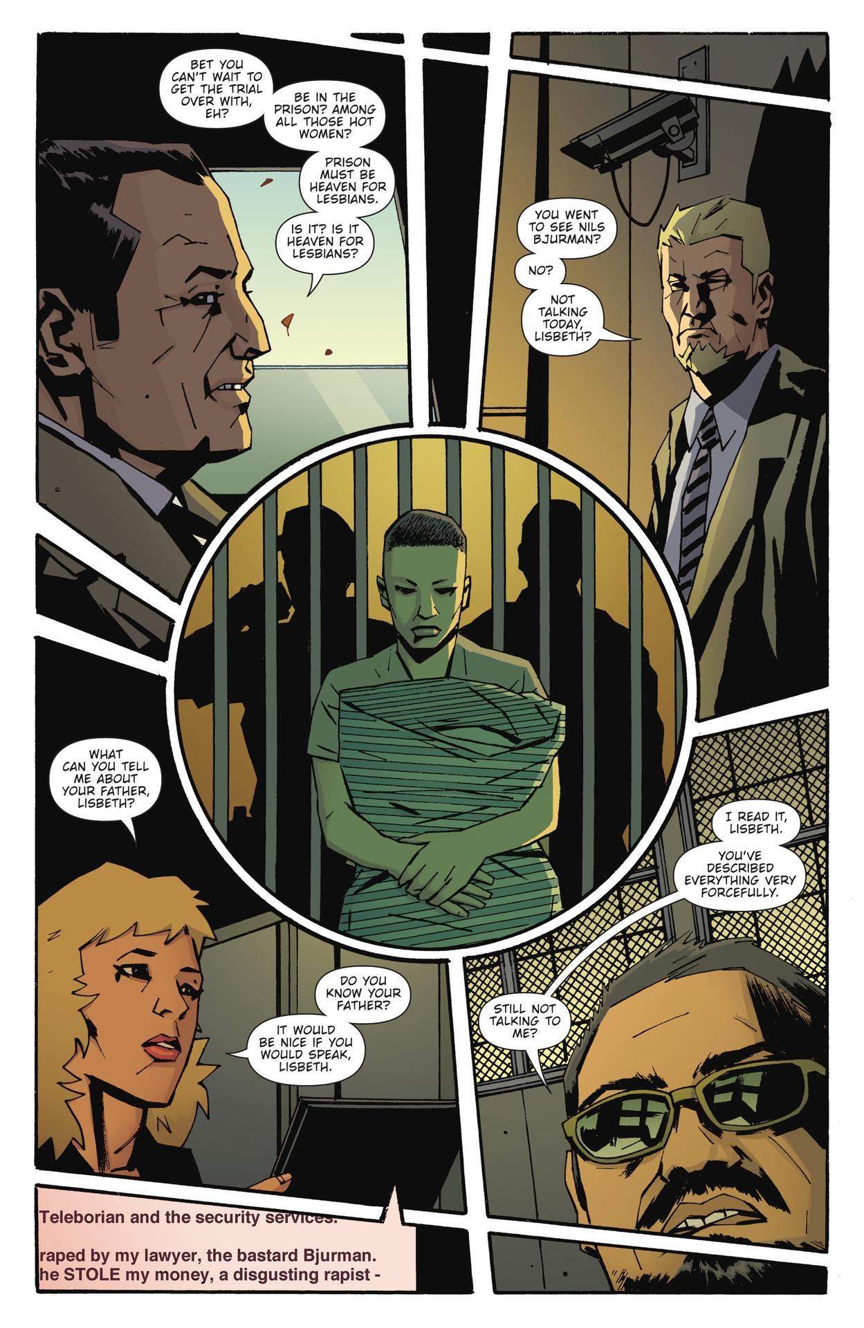 Read online The Girl Who Kicked The Hornet's Nest comic -  Issue # TPB - 195