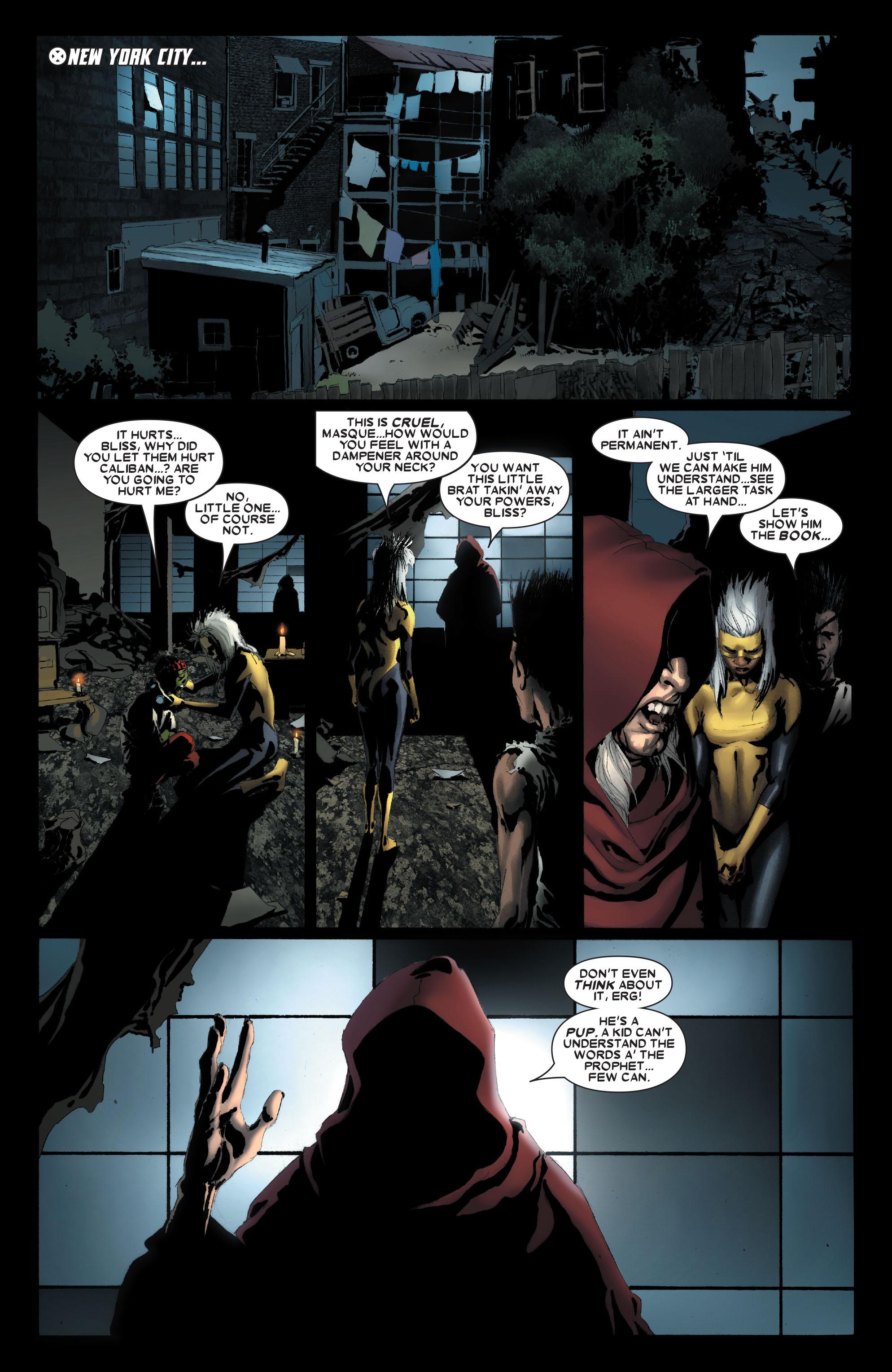 Read online Uncanny X-Men (1963) comic -  Issue #487 - 22