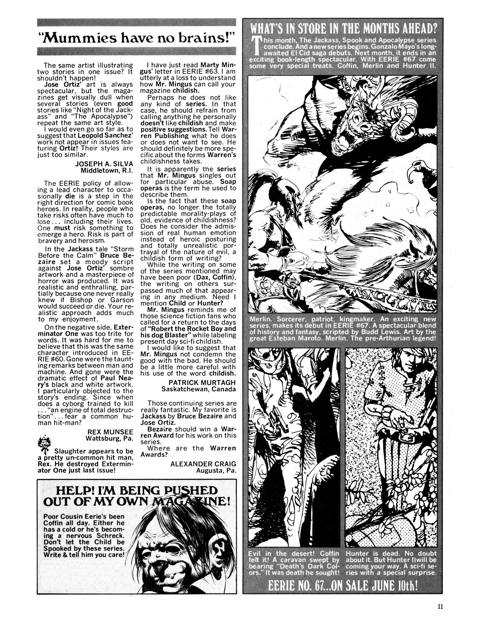 Read online Eerie Archives comic -  Issue # TPB 14 - 12