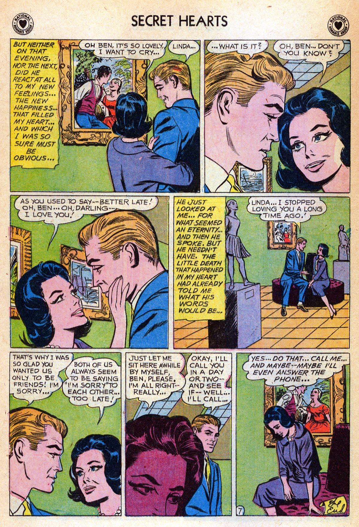 Read online Secret Hearts comic -  Issue #76 - 16