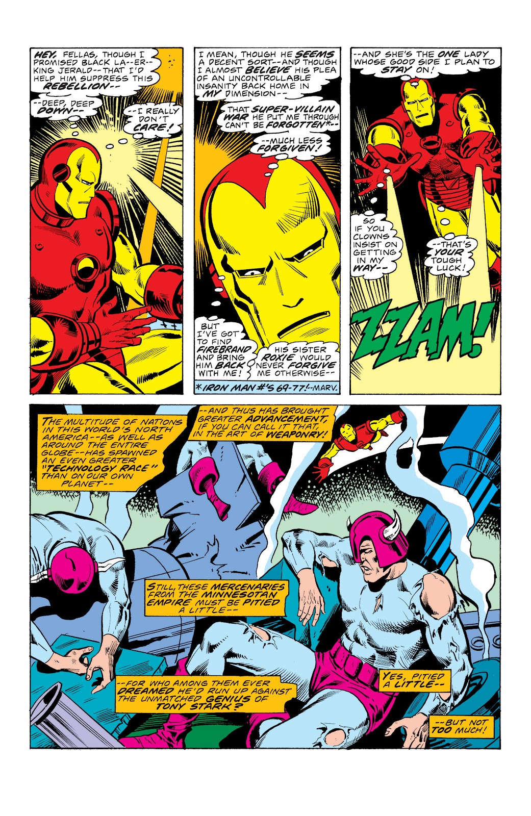 Read online Marvel Masterworks: The Invincible Iron Man comic -  Issue # TPB 10 (Part 3) - 35