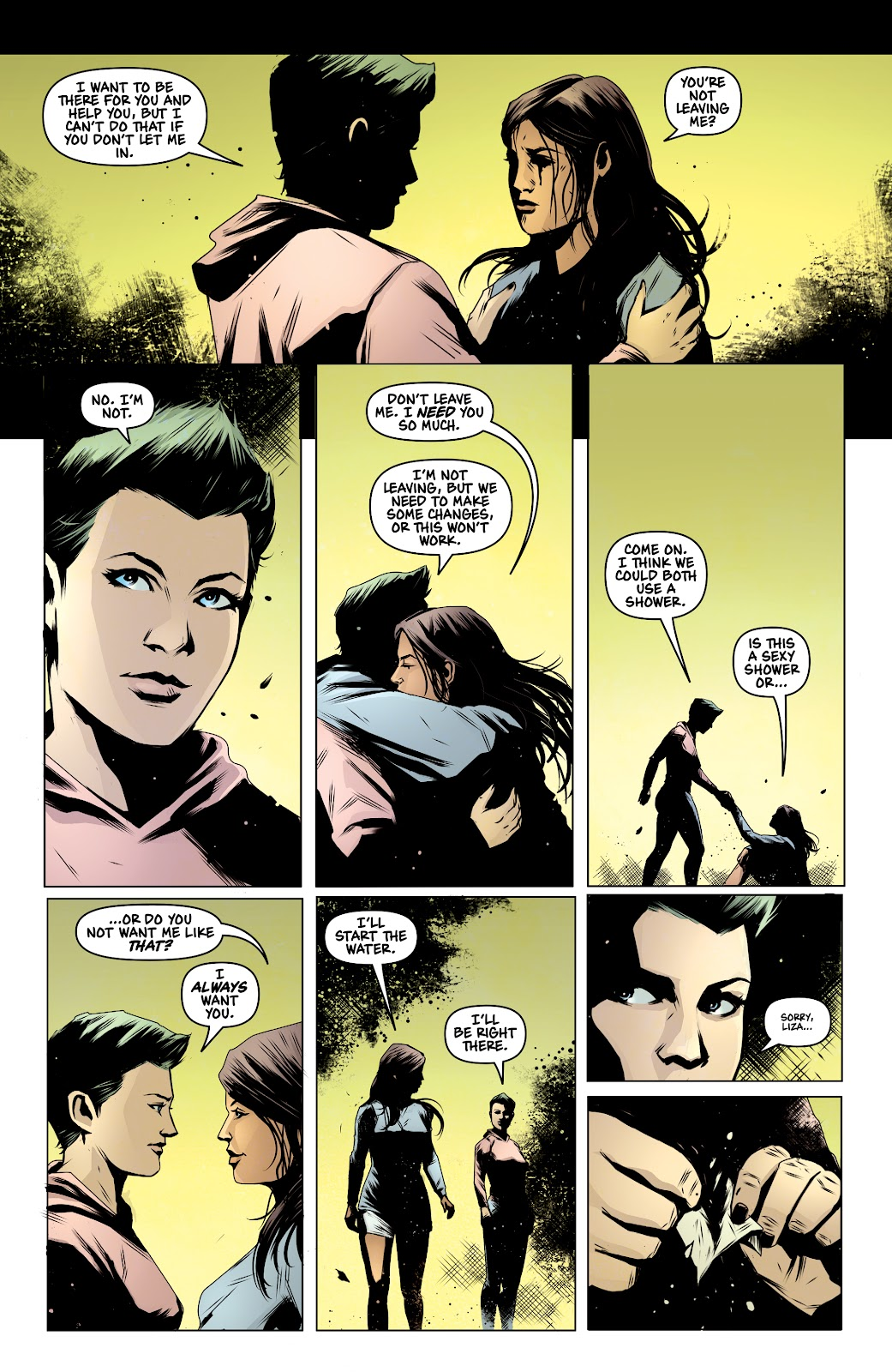 Read online Devil Within comic -  Issue #3 - 20