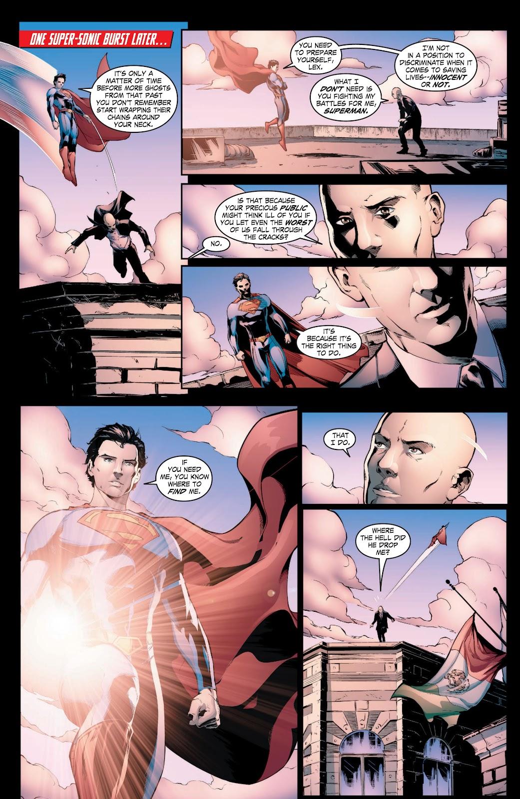 Read online Smallville Season 11 [II] comic -  Issue # TPB 3 - 14
