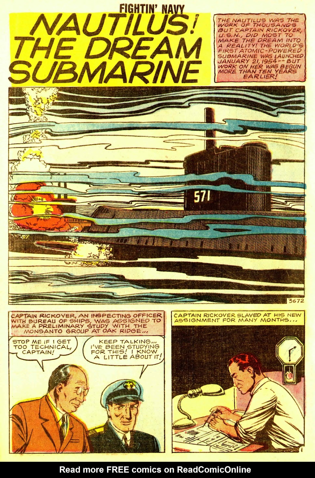 Read online Fightin' Navy comic -  Issue #83 - 52