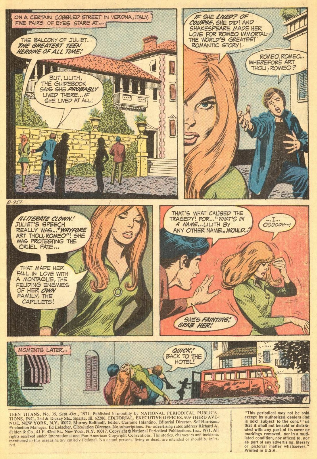 Teen Titans (1966) issue 35 - Page 3