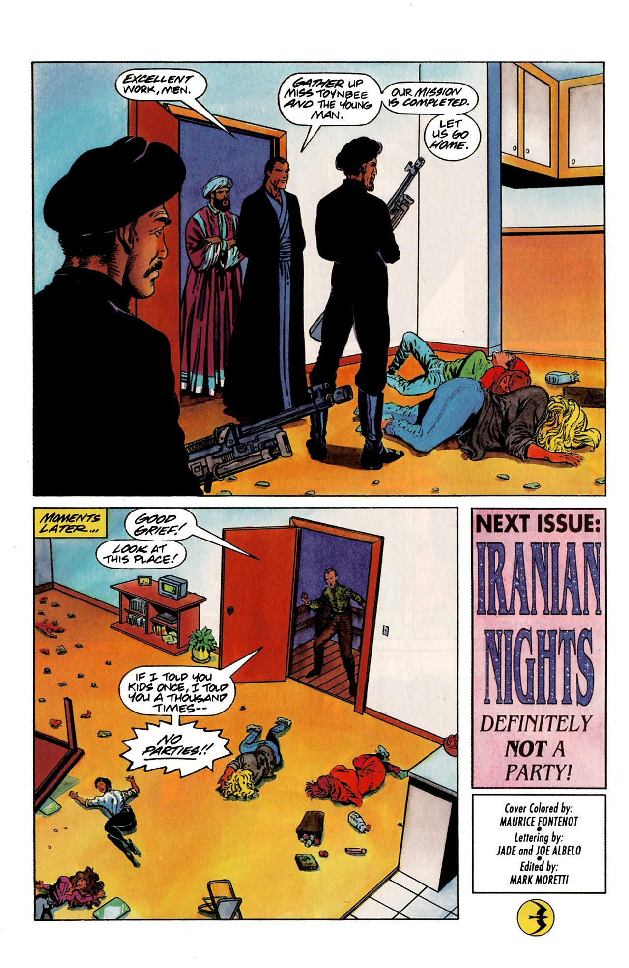 Read online Harbinger (1992) comic -  Issue #19 - 22
