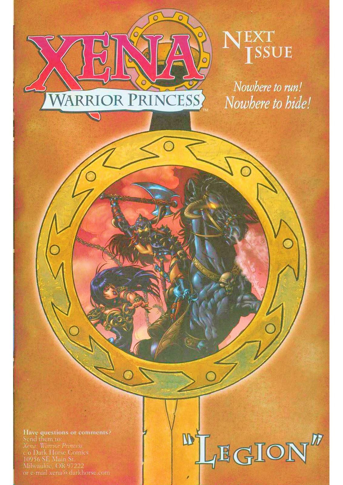 Xena: Warrior Princess (1999) Issue #12 #12 - English 25