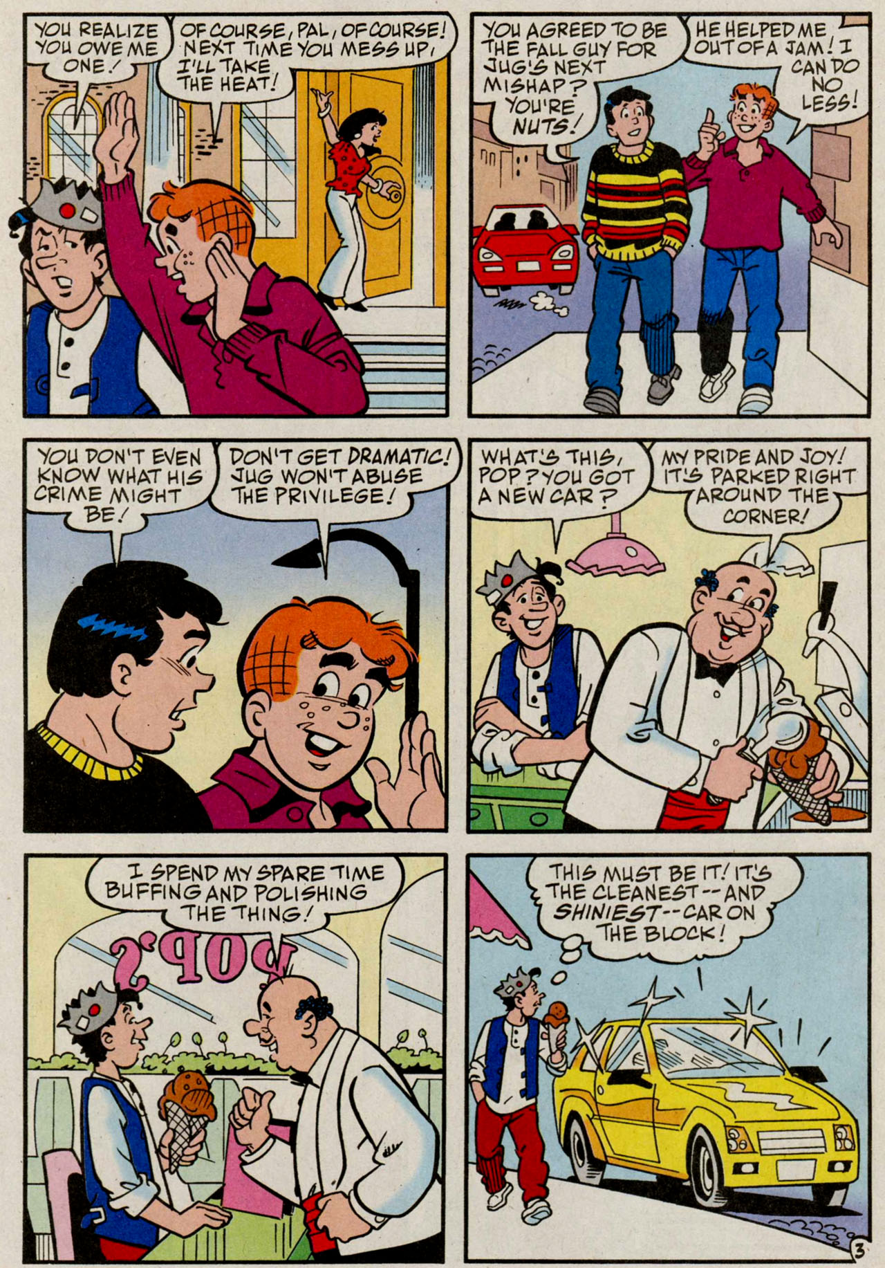 Read online Archie (1960) comic -  Issue #584 - 21