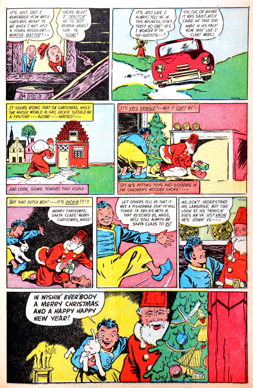 Read online Famous Funnies comic -  Issue #195 - 33