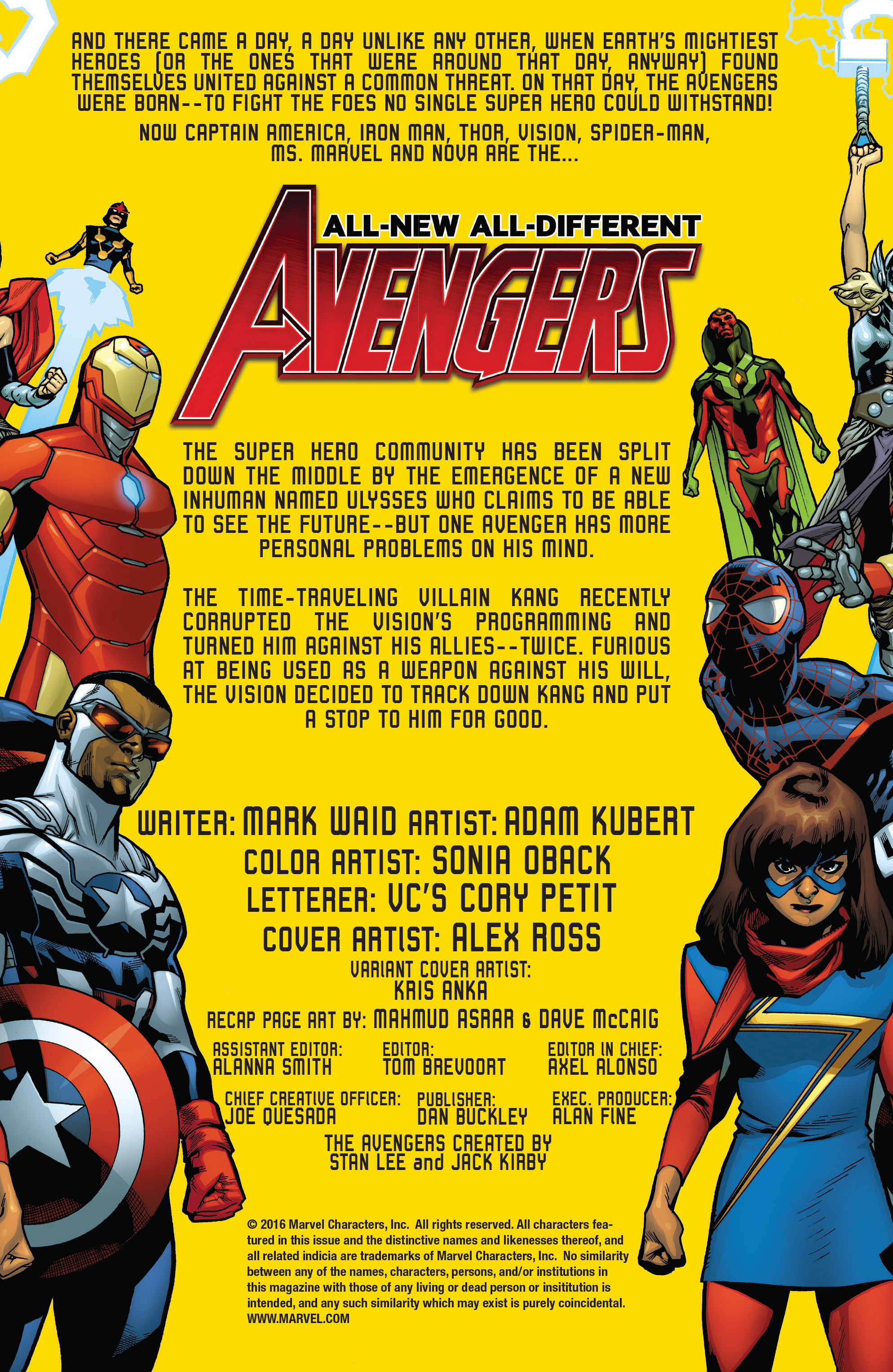 Read online All-New, All-Different Avengers comic -  Issue #13 - 2