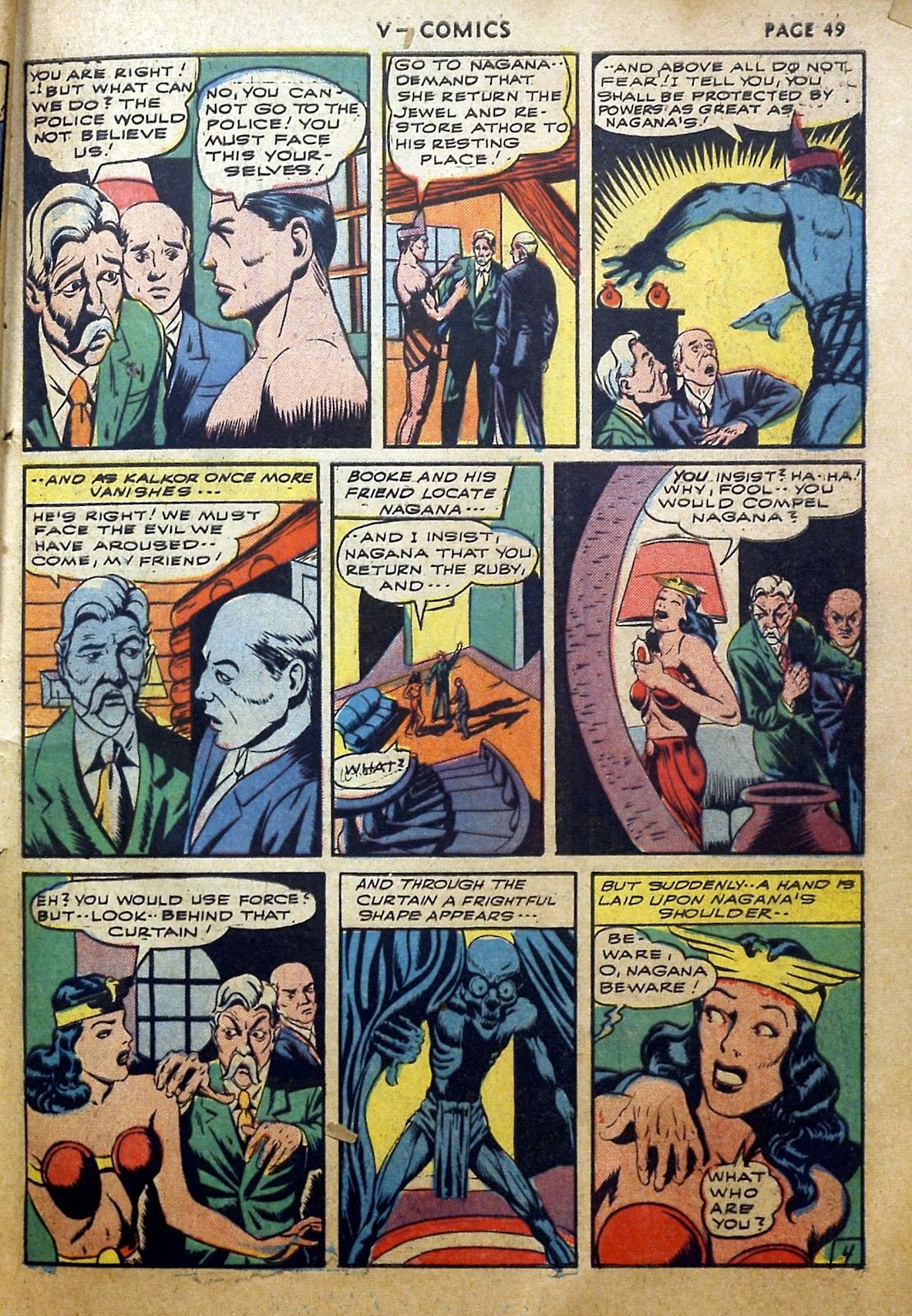 Read online V...- Comics comic -  Issue #2 - 50