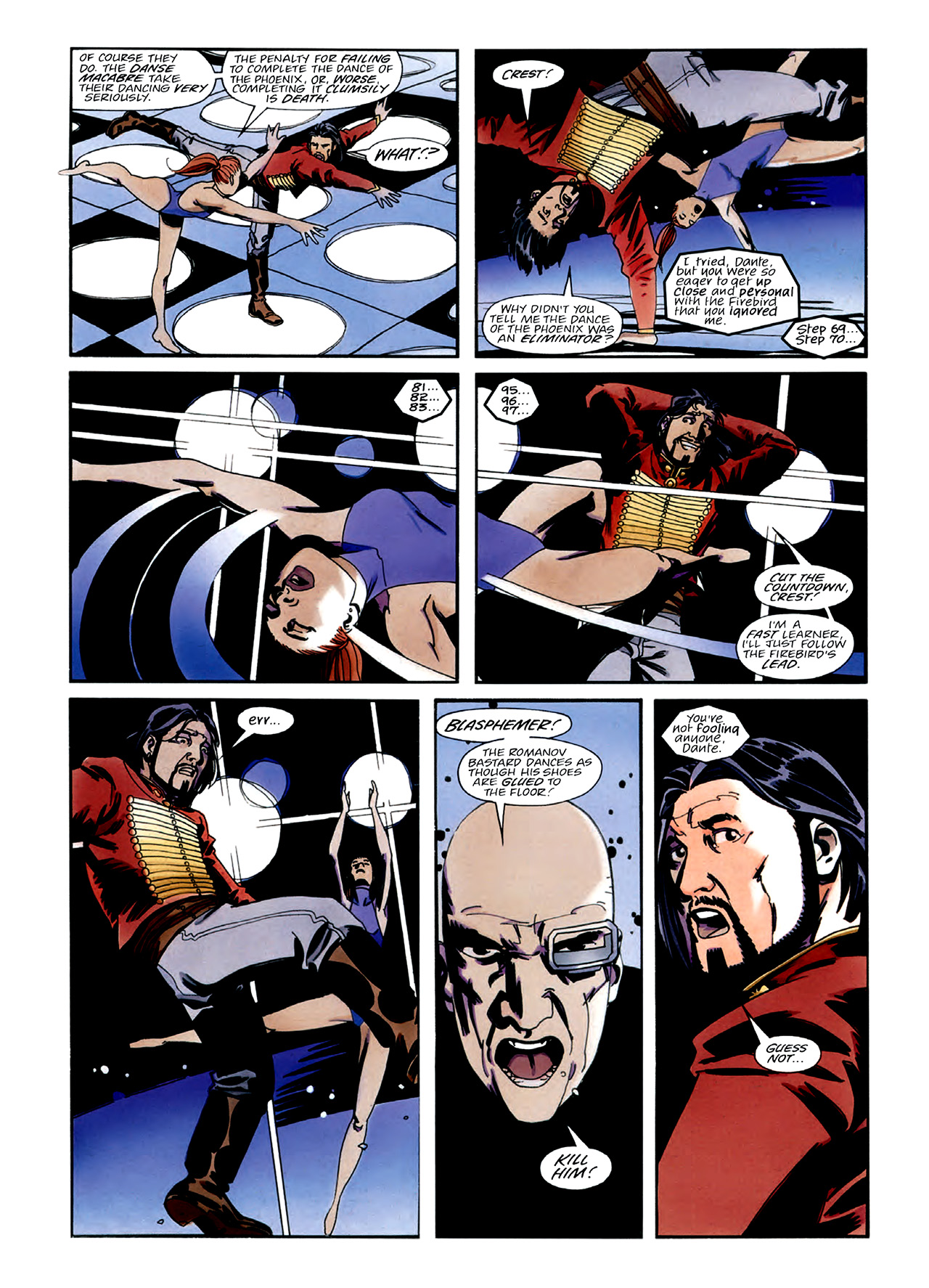 Read online Nikolai Dante comic -  Issue # TPB 3 - 24