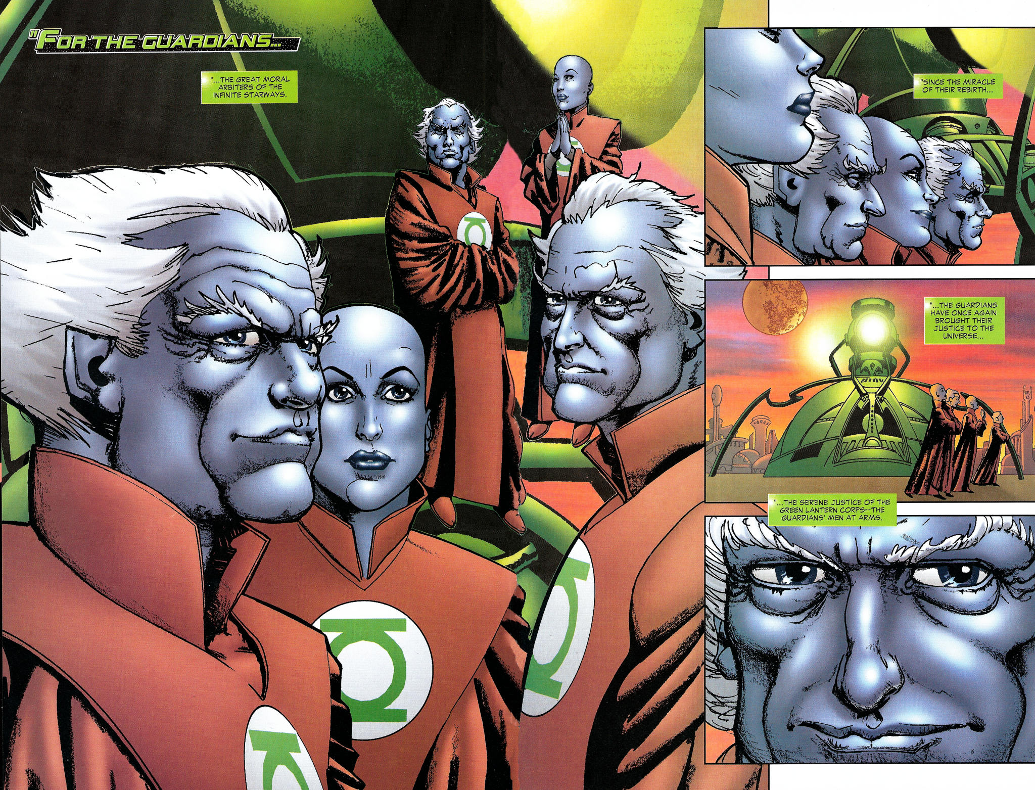 Read online Guy Gardner: Collateral Damage comic -  Issue #1 - 4