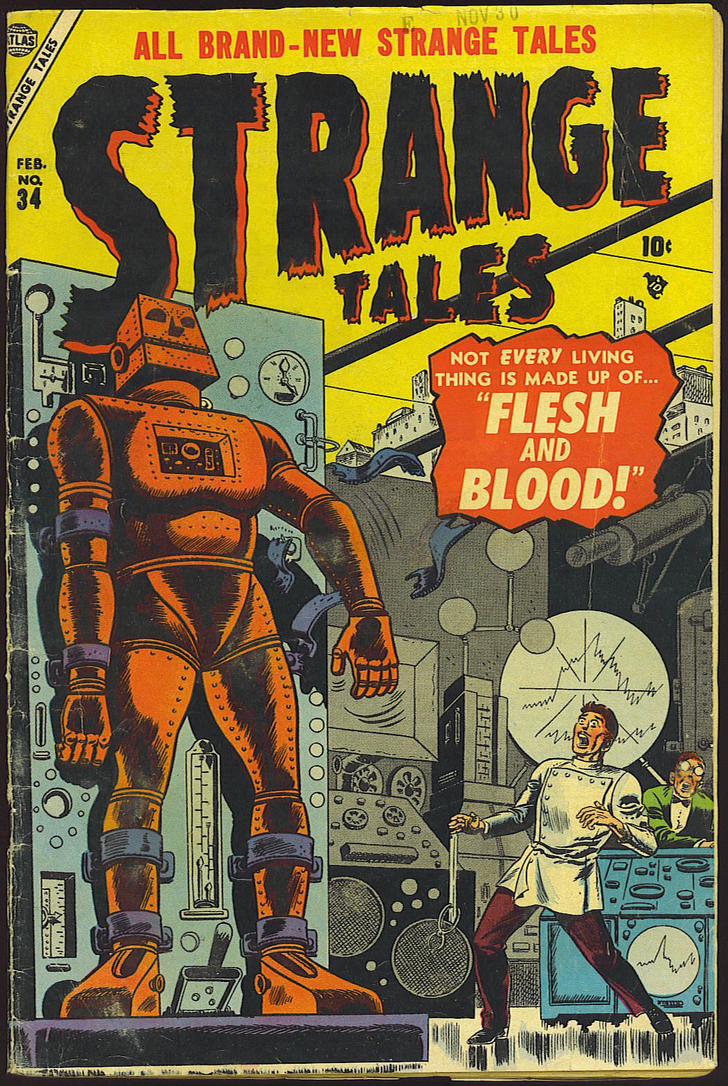 Strange Tales (1951) 34 Page 1