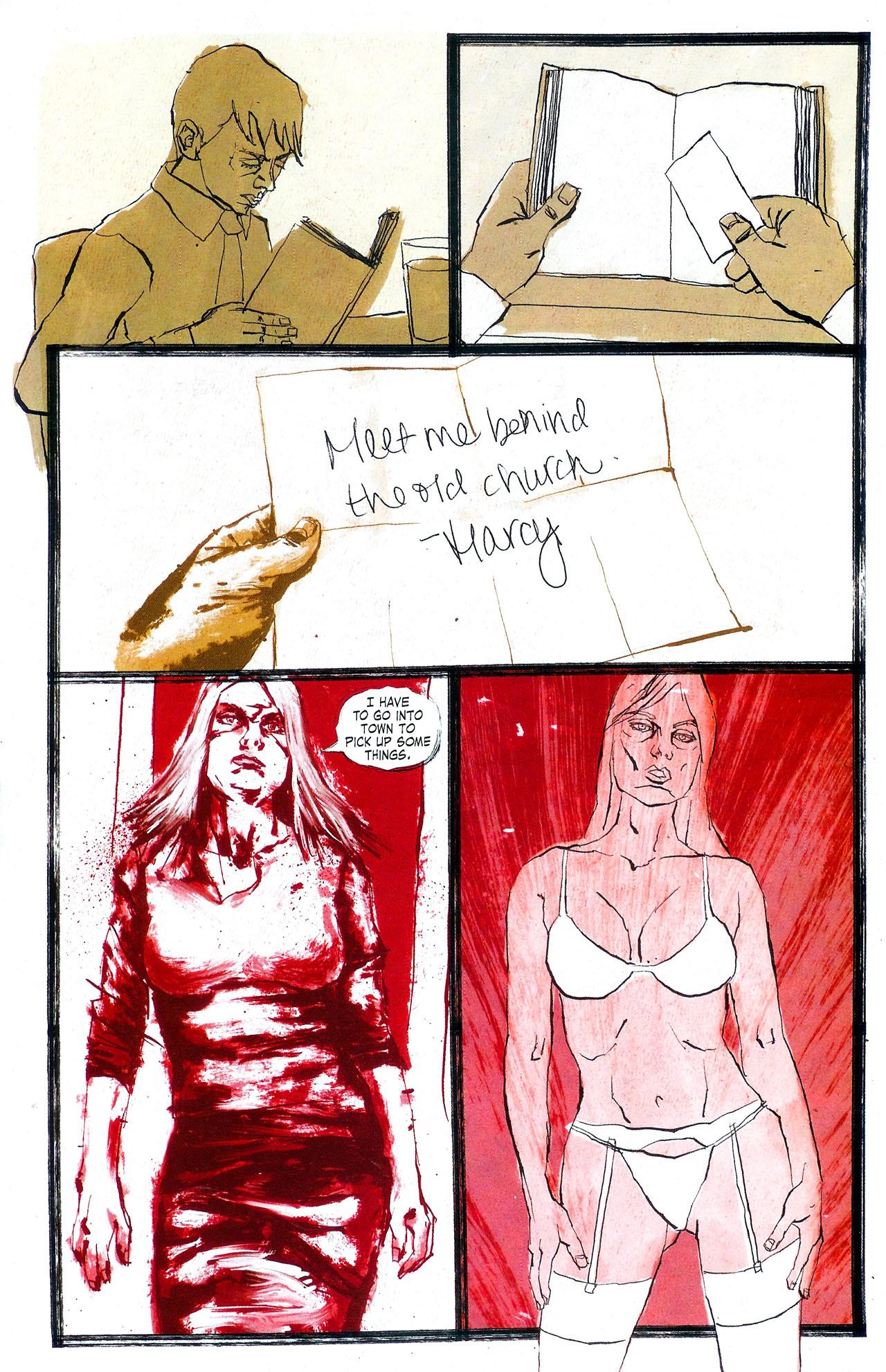 Read online Se7en comic -  Issue #4 - 22
