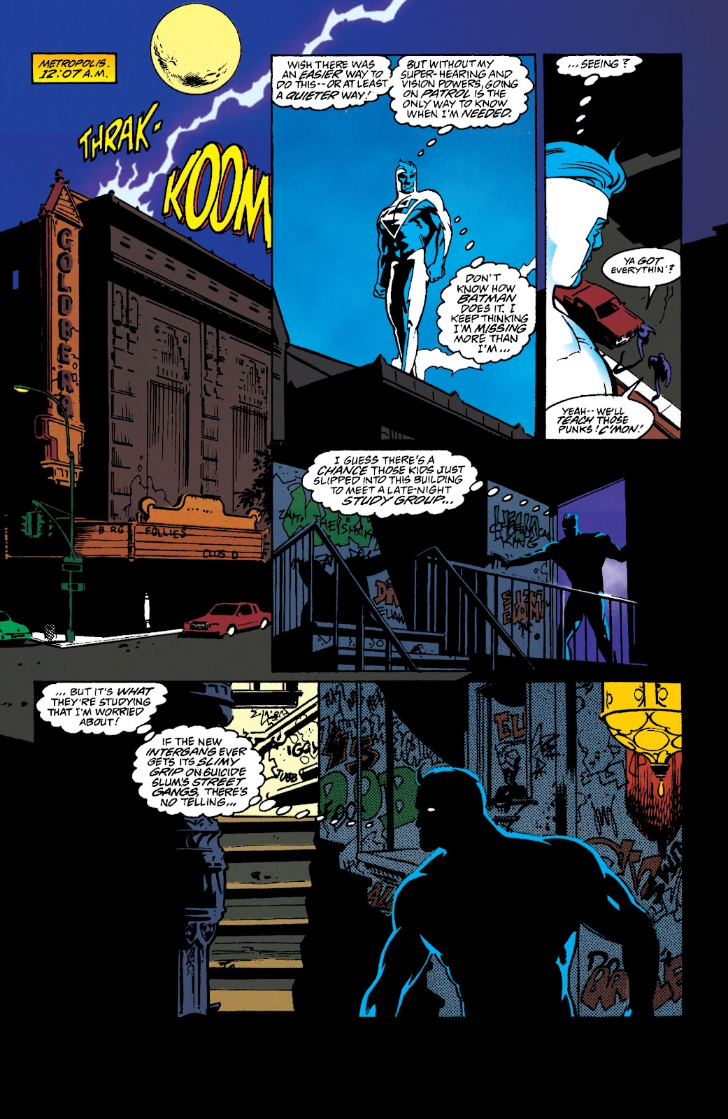 Adventures of Superman (1987) issue 549 - Page 2