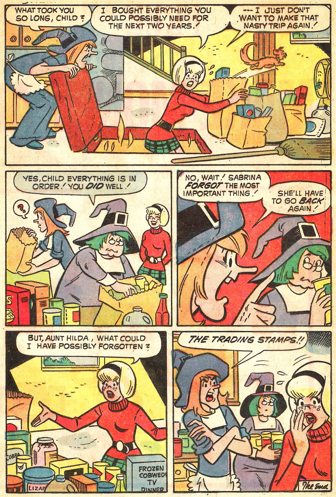 Sabrina The Teenage Witch (1971) Issue #20 #20 - English 17