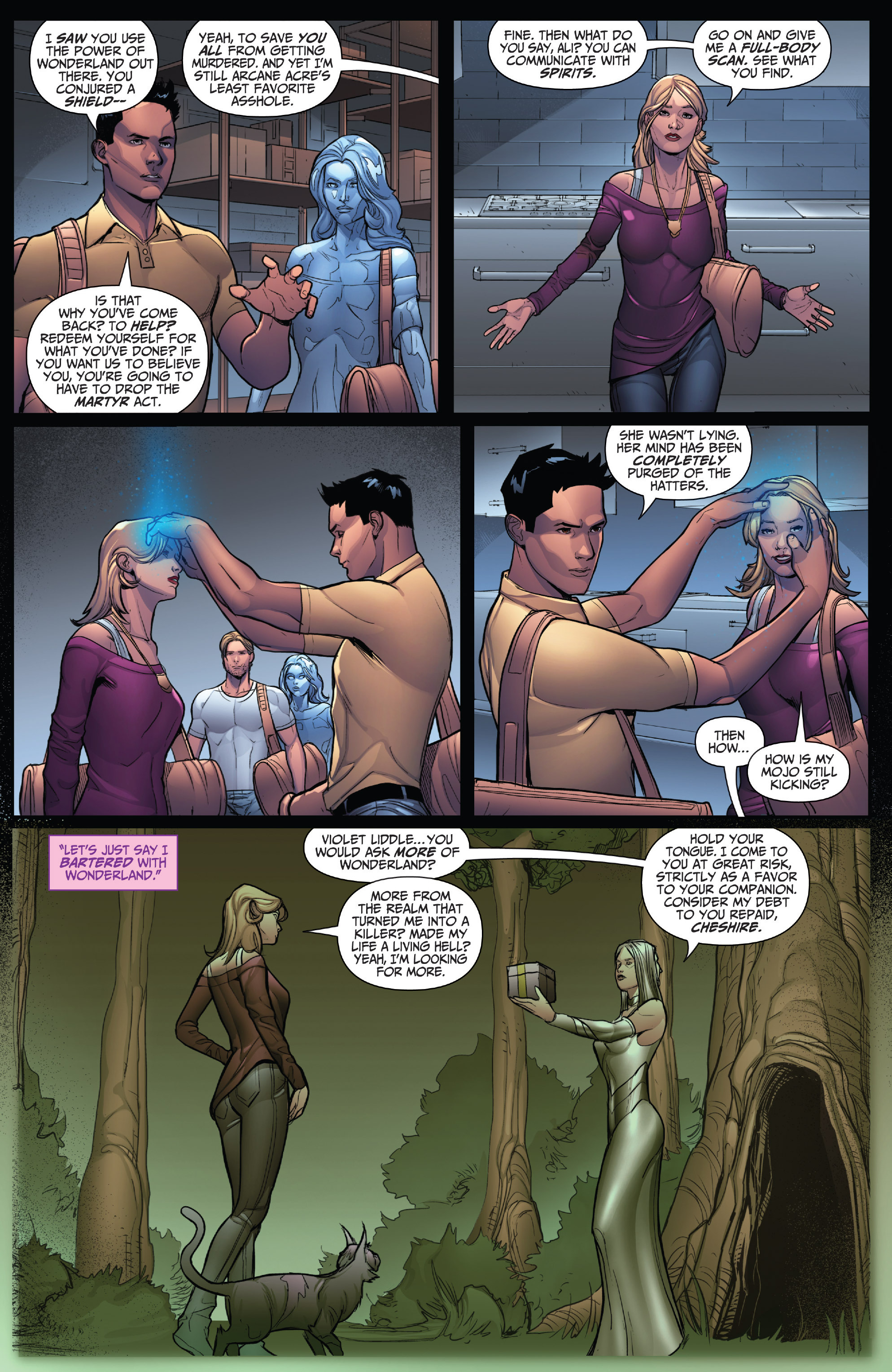 Read online Grimm Fairy Tales: Arcane Acre comic -  Issue # TPB 4 - 101
