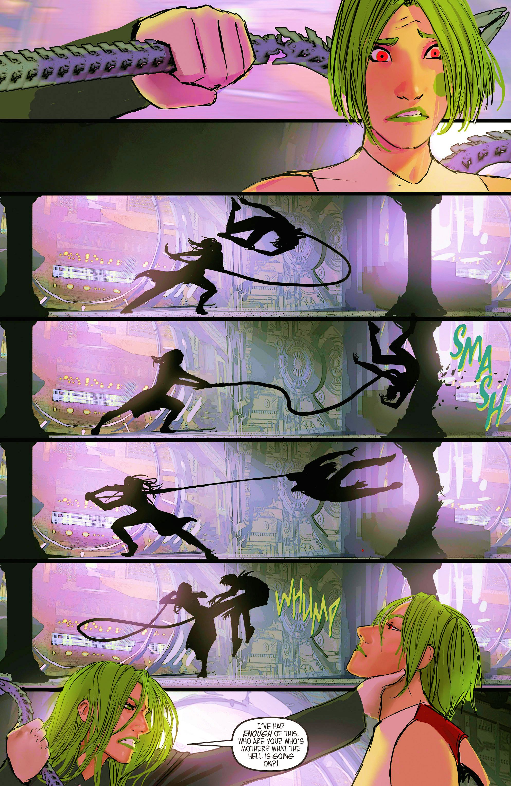 Read online Aphrodite IX (2013) comic -  Issue #9 - 15