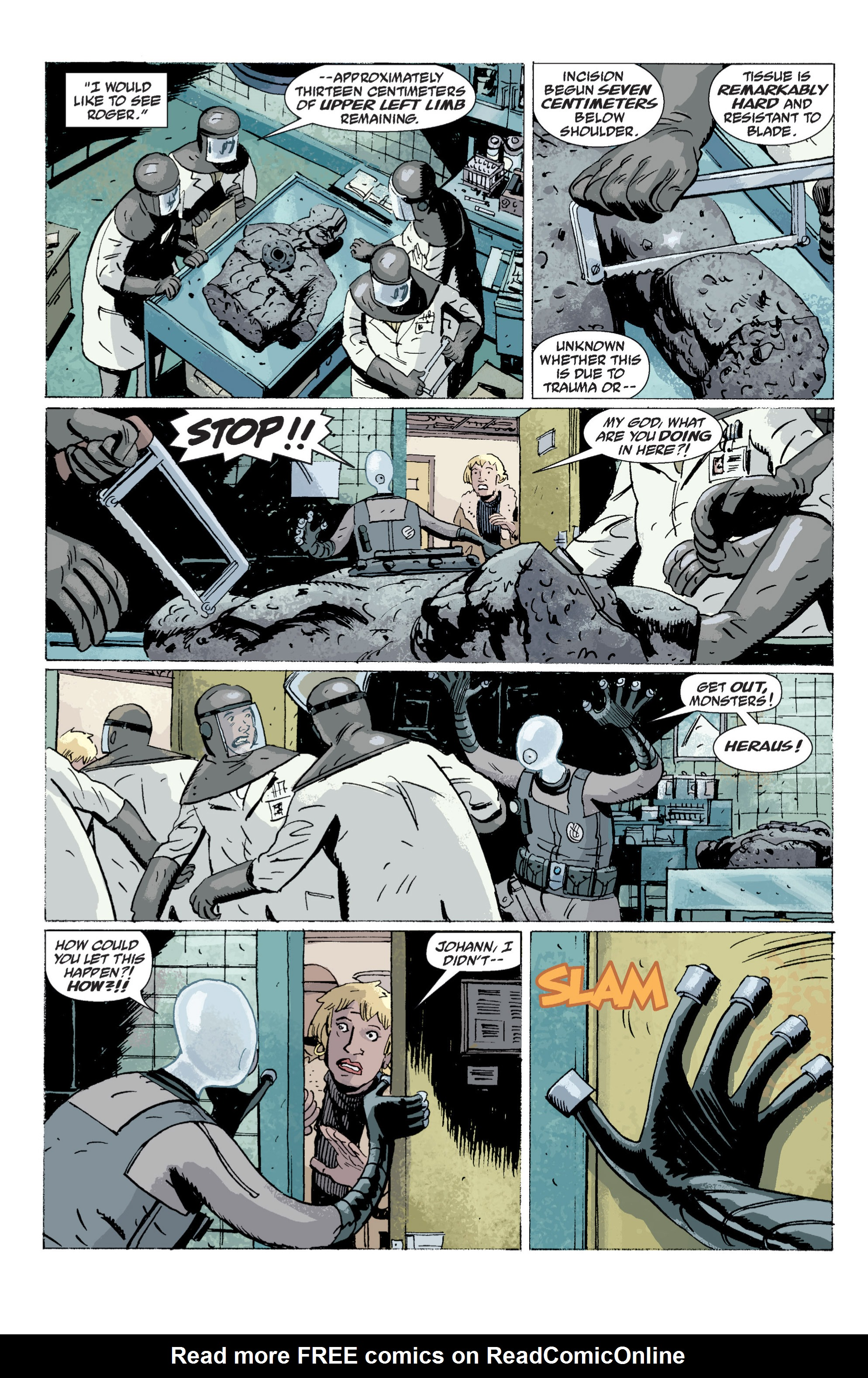 Read online B.P.R.D. (2003) comic -  Issue # TPB 5 - 156