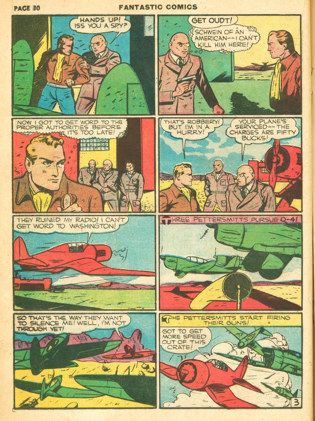 Read online Fantastic Comics comic -  Issue #12 - 32