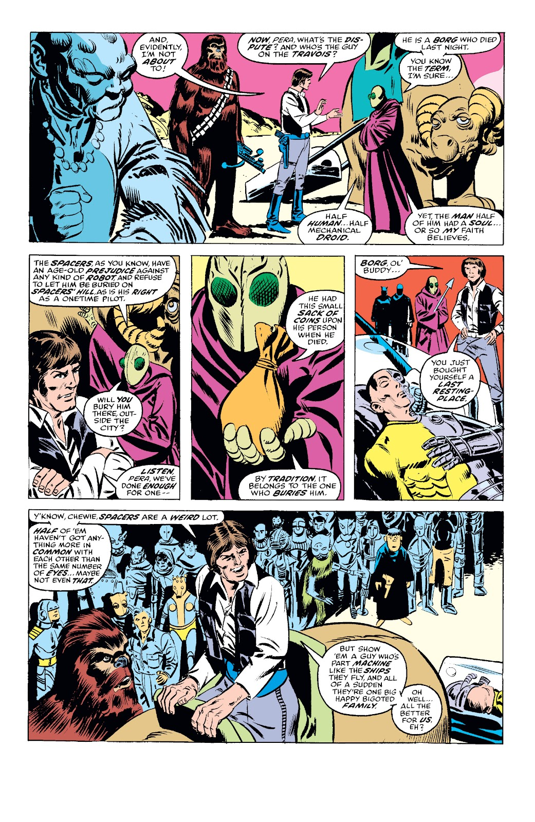 Read online Star Wars Legends: The Original Marvel Years - Epic Collection comic -  Issue # TPB 1 (Part 2) - 27