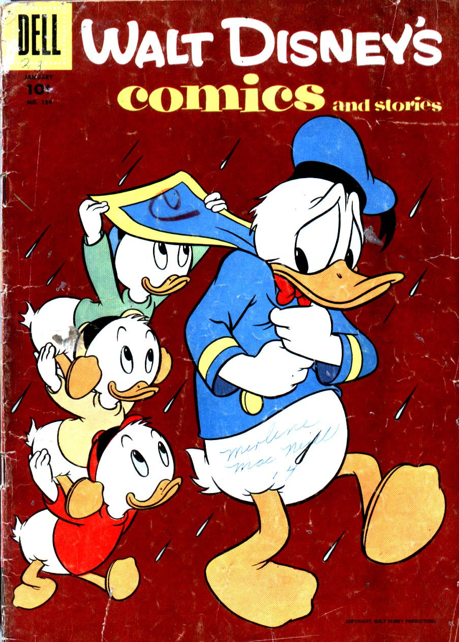 Walt Disney's Comics and Stories issue 184 - Page 1