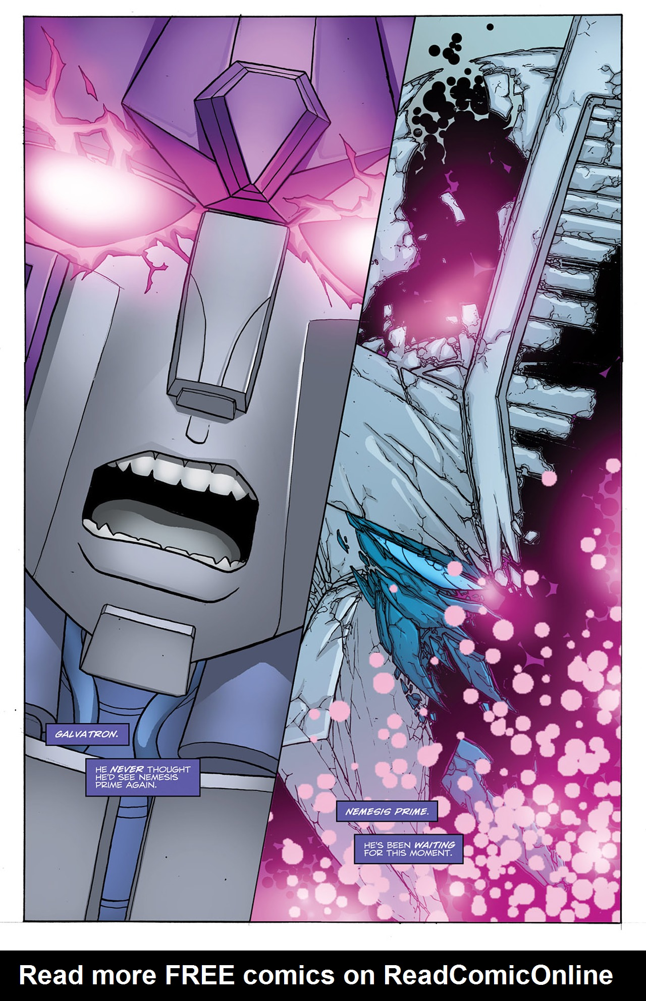 Read online Transformers: Heart of Darkness comic -  Issue #4 - 6