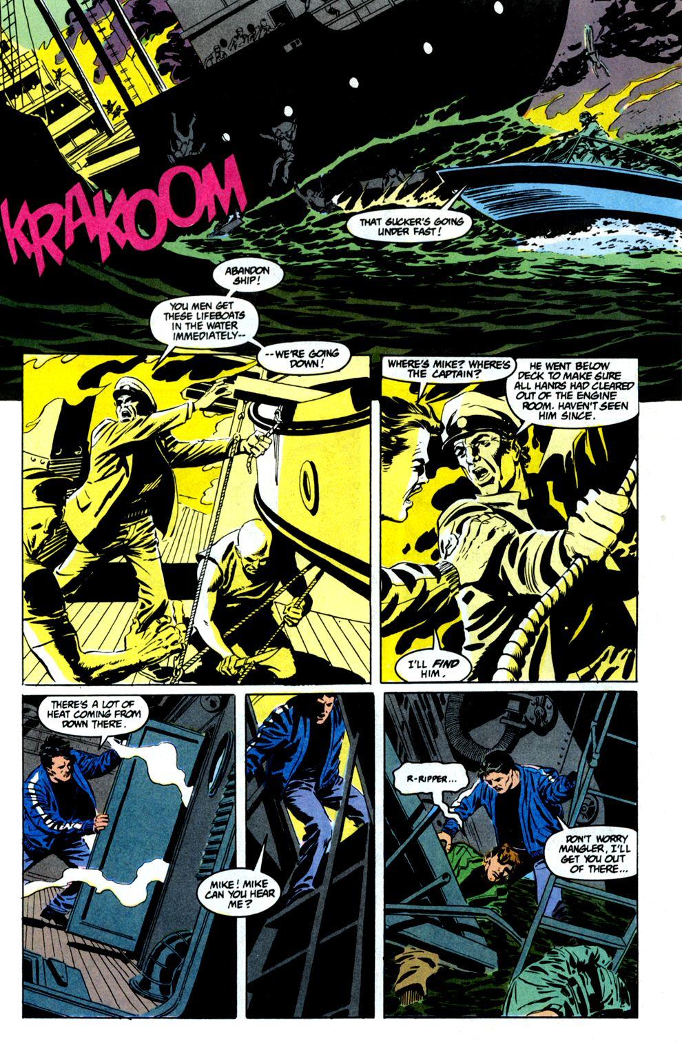 Read online Powerline comic -  Issue #8 - 12
