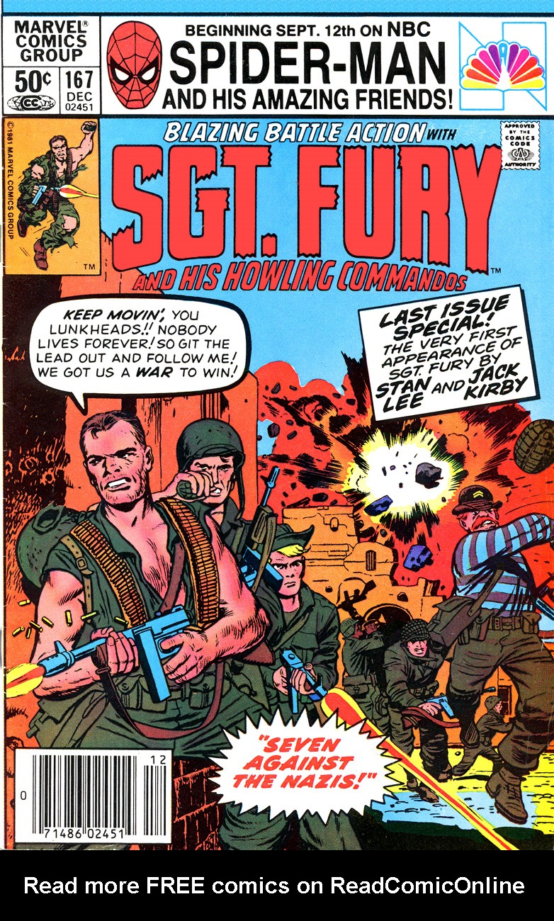 Sgt. Fury issue 167 - Page 1