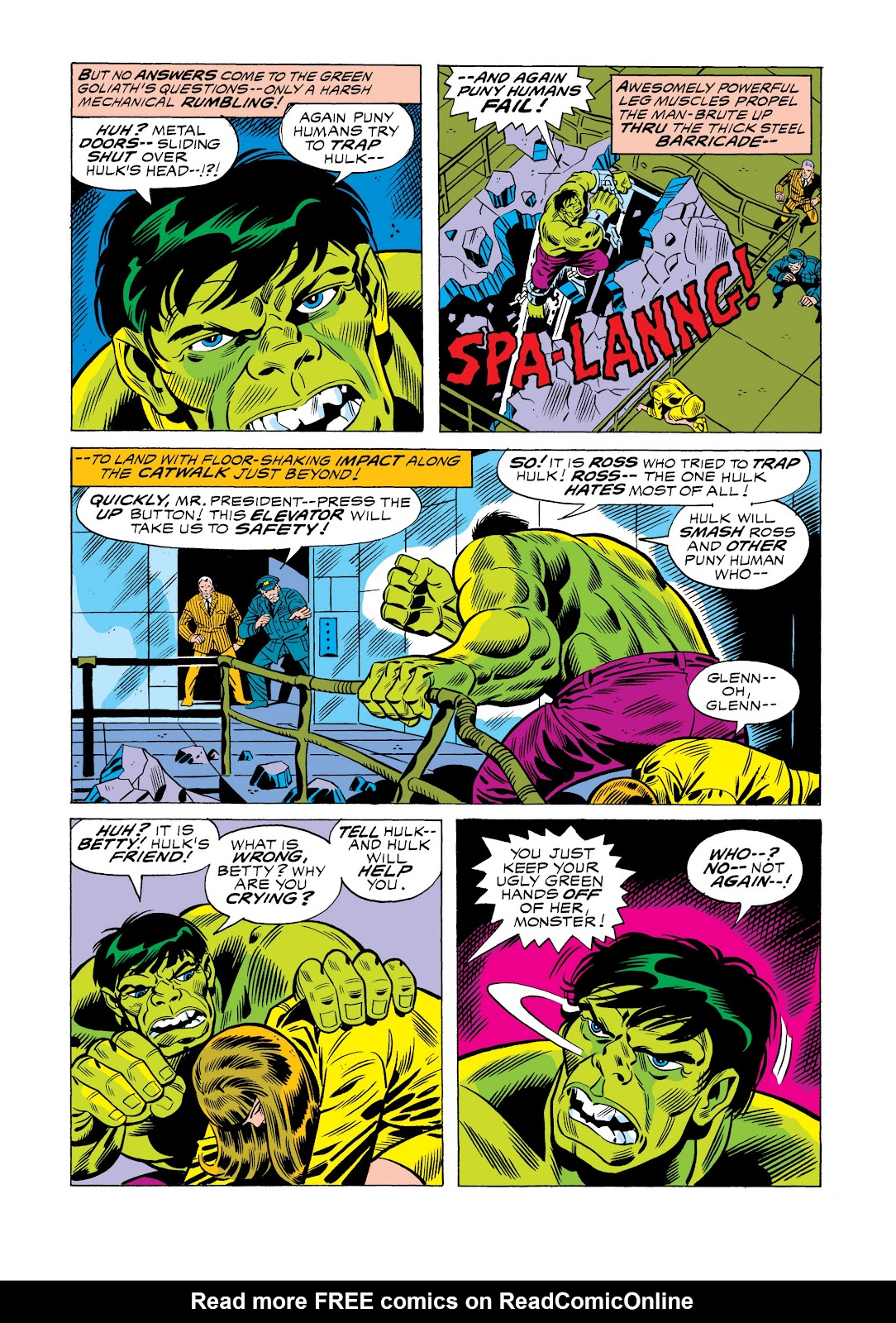 Read online Marvel Masterworks: The Incredible Hulk comic -  Issue # TPB 11 (Part 1) - 37