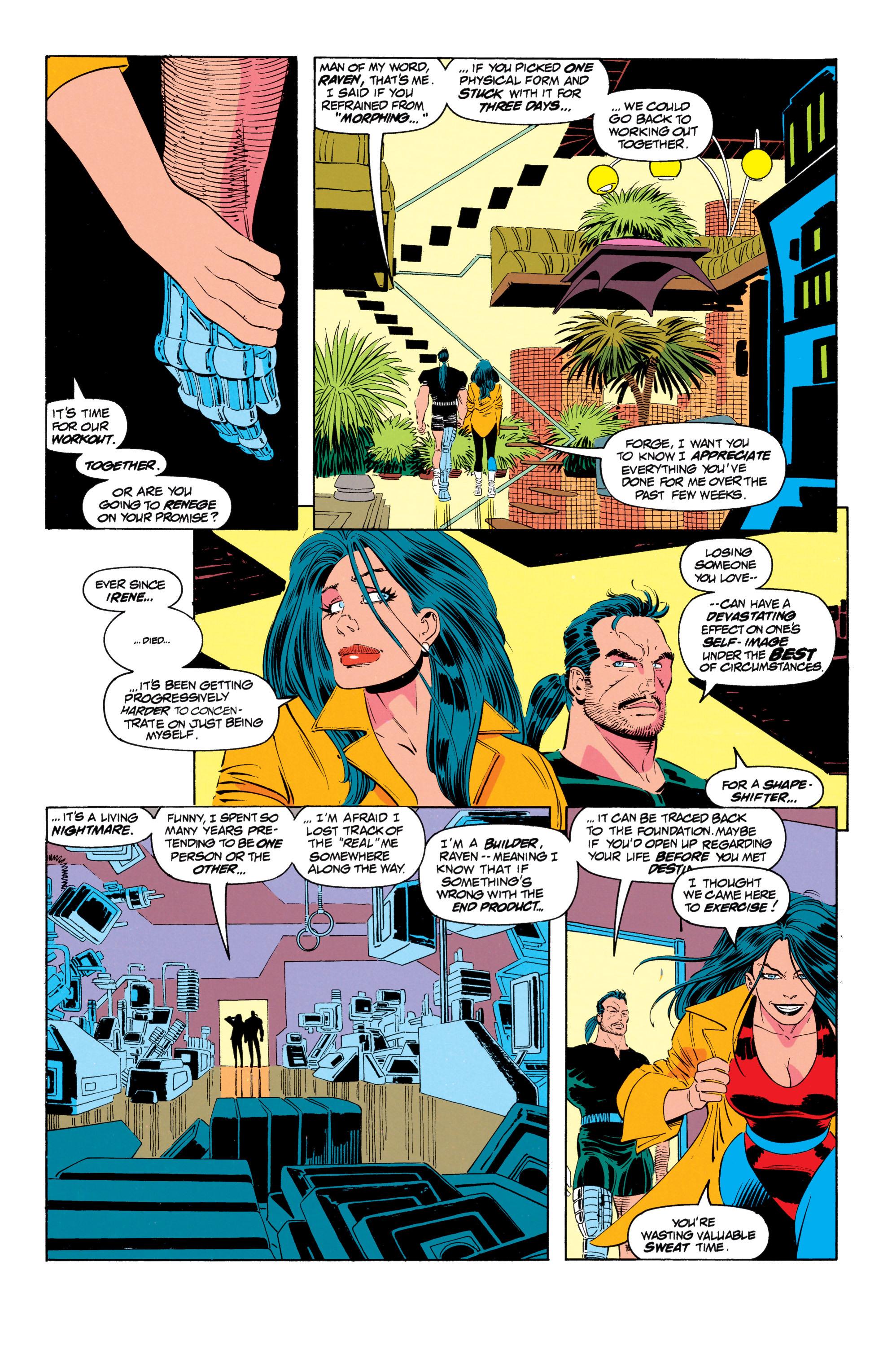 Read online Uncanny X-Men (1963) comic -  Issue #301 - 11