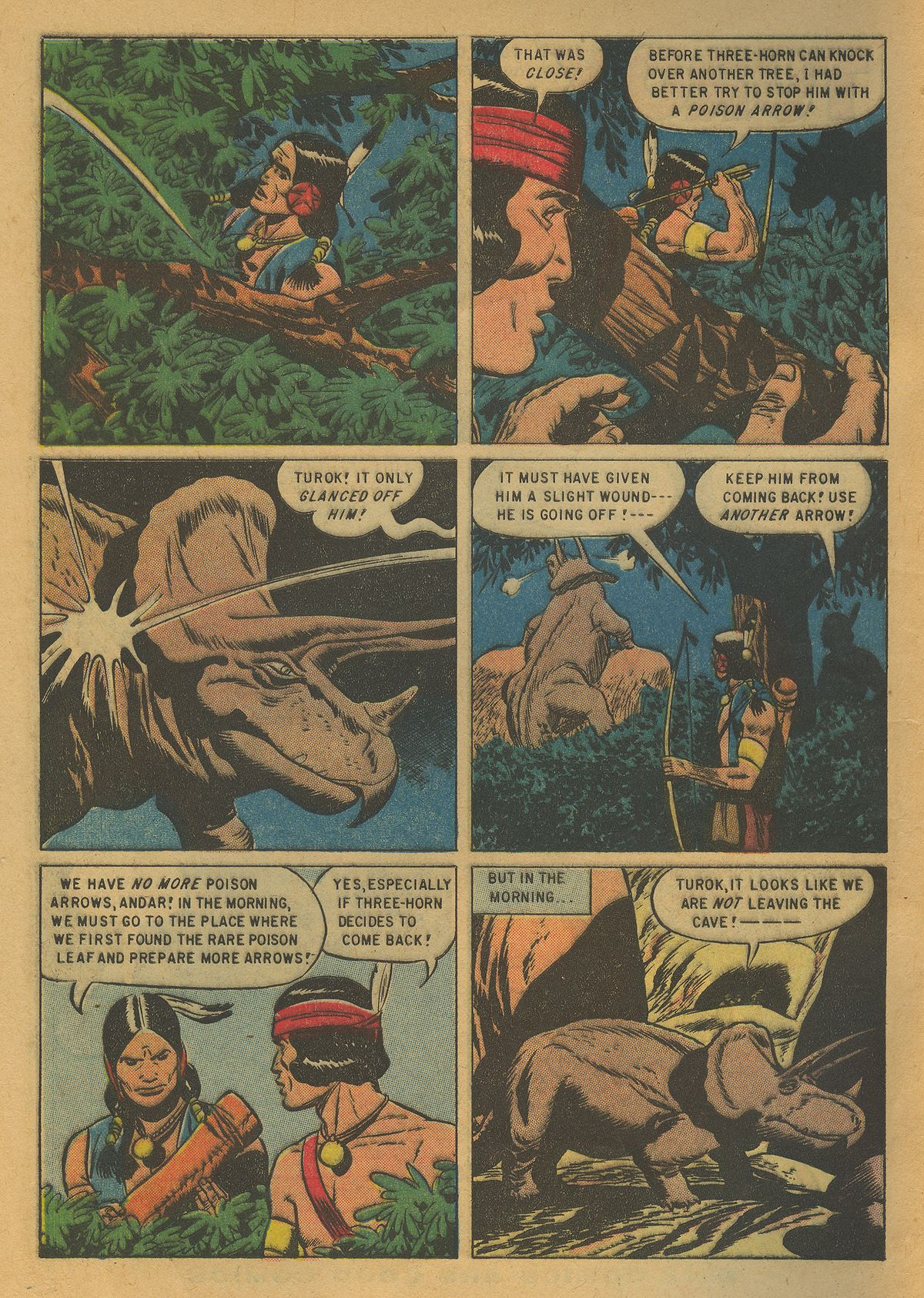 Read online Turok, Son of Stone comic -  Issue #10 - 4