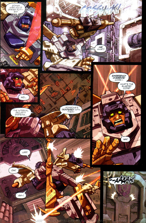 Read online Transformers Armada comic -  Issue #8 - 11