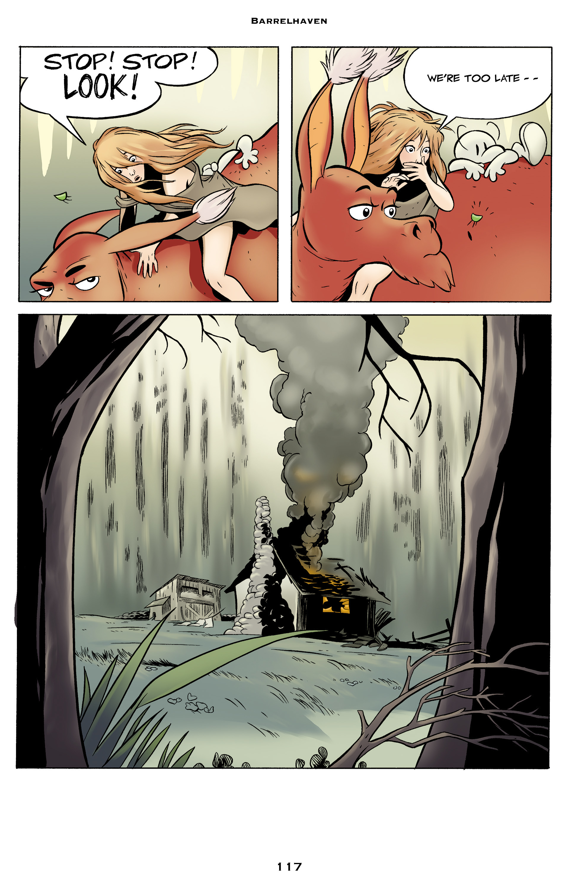 Read online Bone: Out From Boneville comic -  Issue # TPB - 117