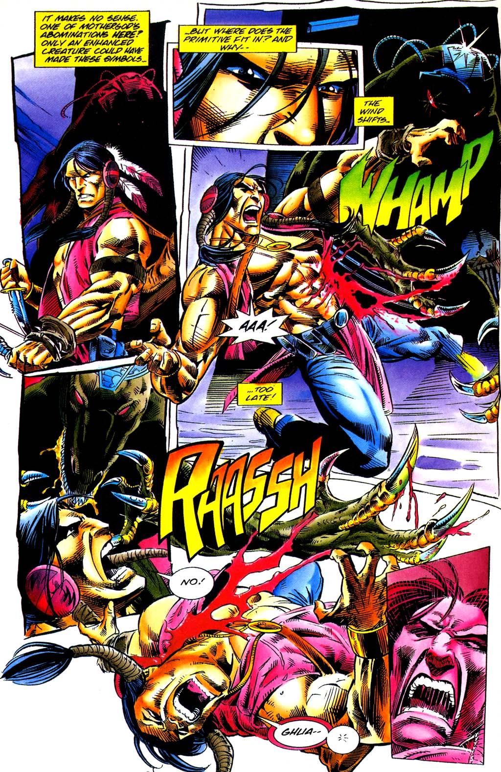 Read online Turok, Dinosaur Hunter (1993) comic -  Issue #29 - 11
