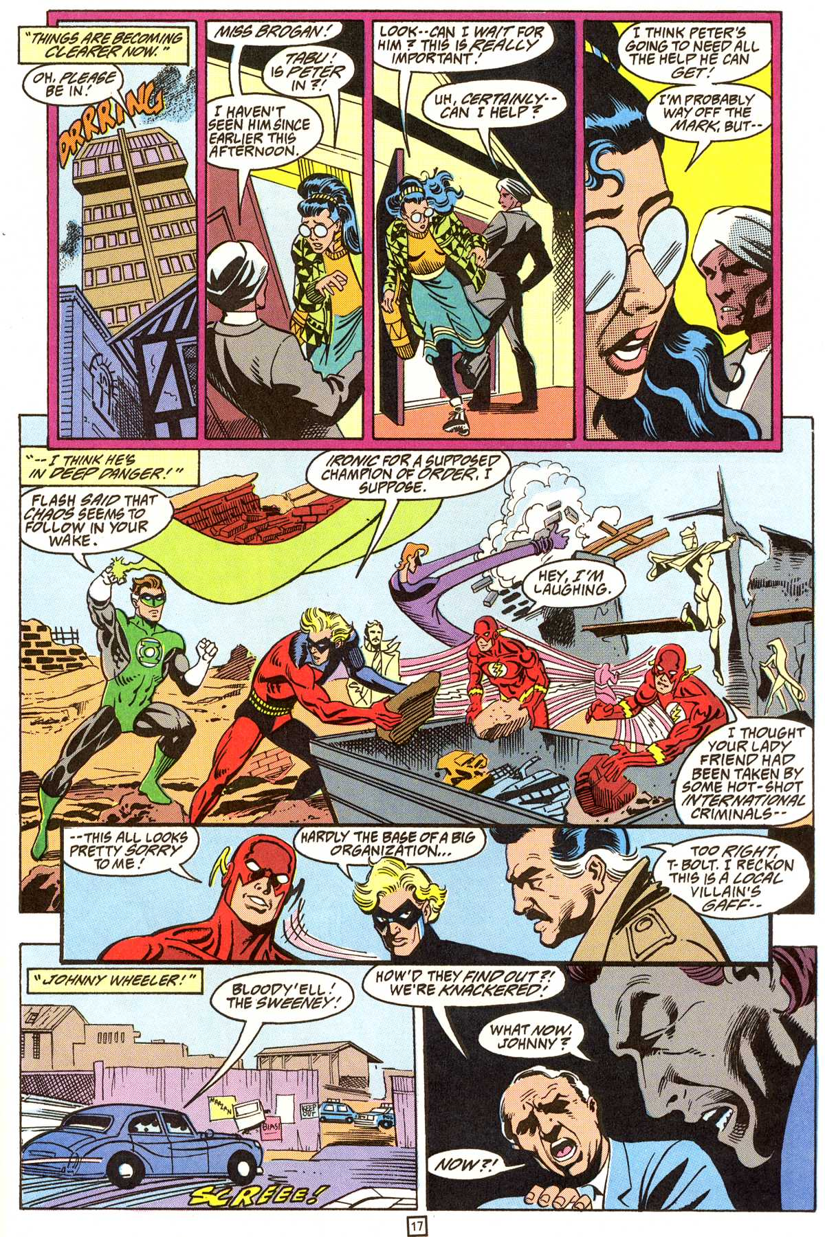 Read online Peter Cannon--Thunderbolt (1992) comic -  Issue #9 - 18