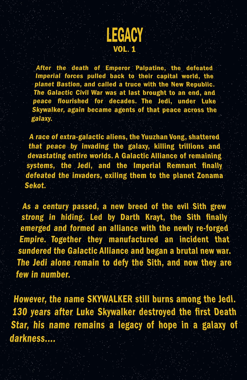 Read online Star Wars Legends: Legacy - Epic Collection comic -  Issue # TPB 1 (Part 1) - 4