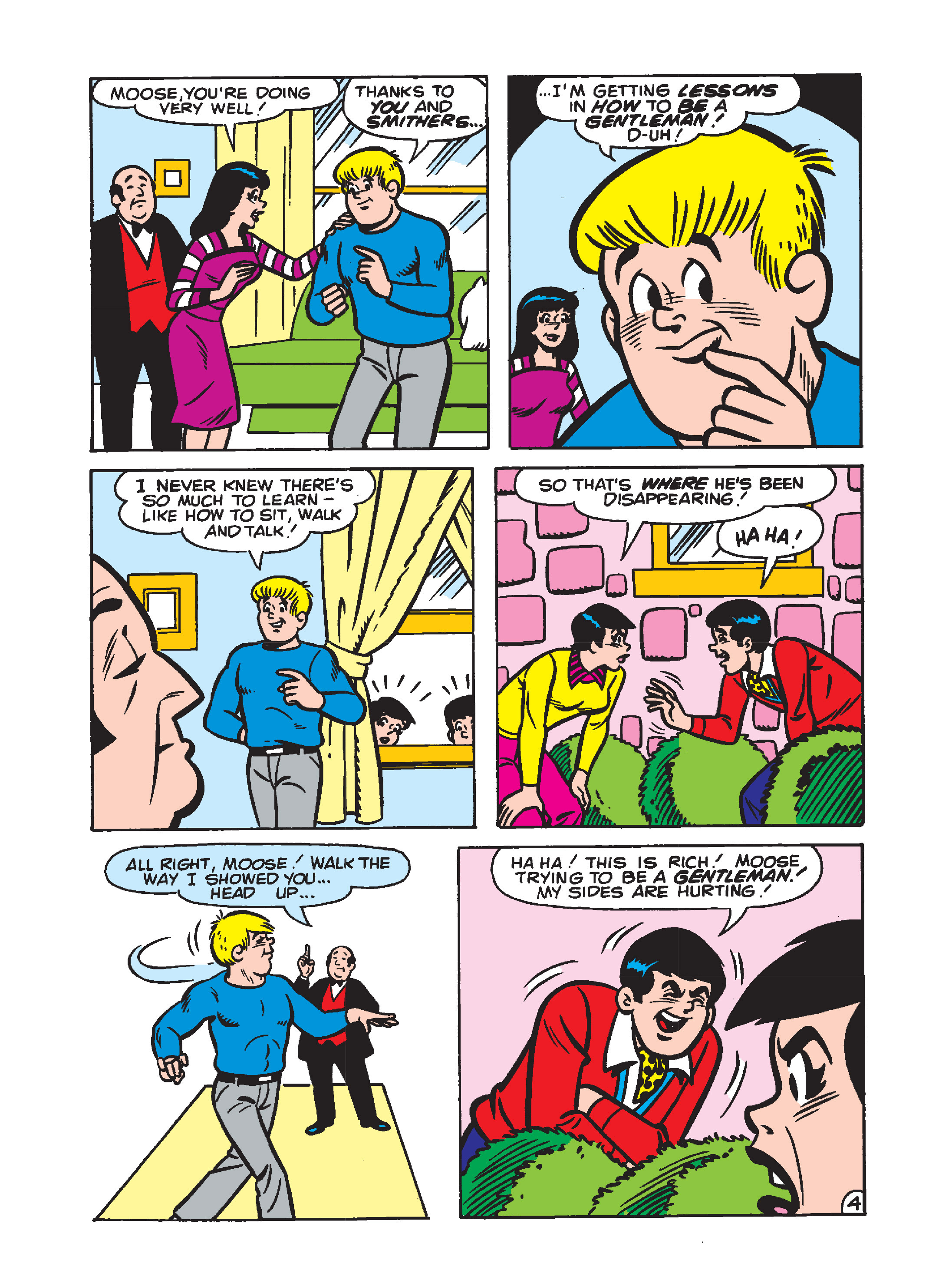 Read online Archie's Funhouse Double Digest comic -  Issue #1 - 81