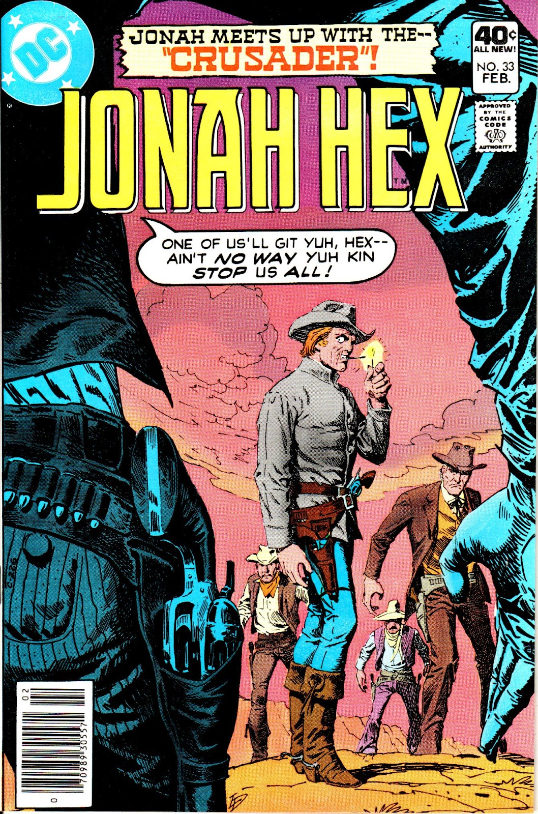 Jonah Hex (1977) 33 Page 1