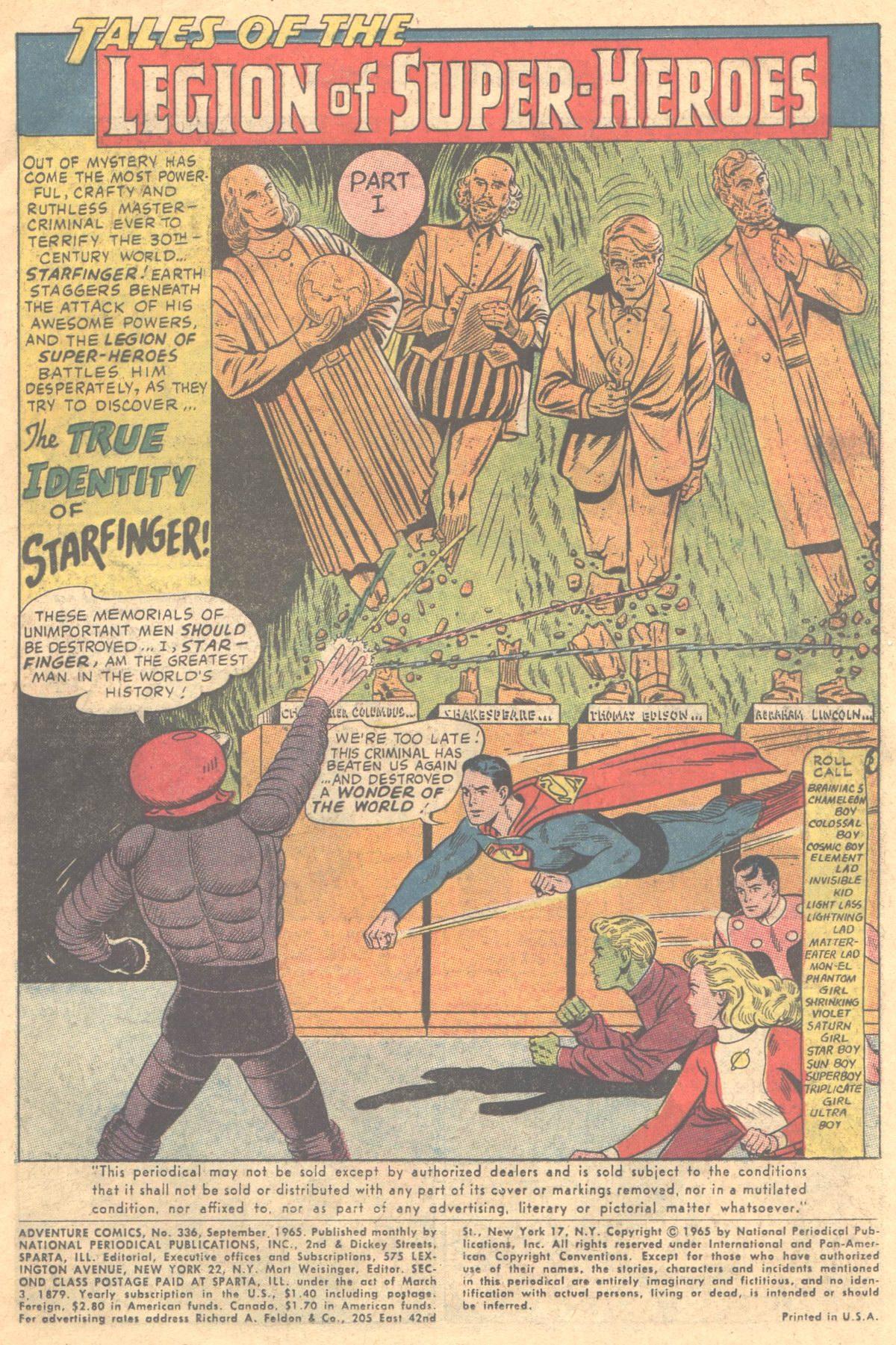 Read online Adventure Comics (1938) comic -  Issue #336 - 4
