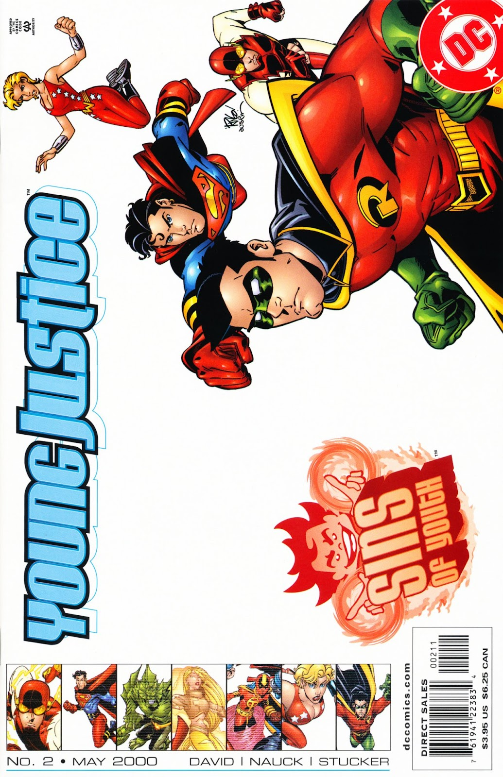 Young Justice: Sins of Youth issue 2 - Page 1