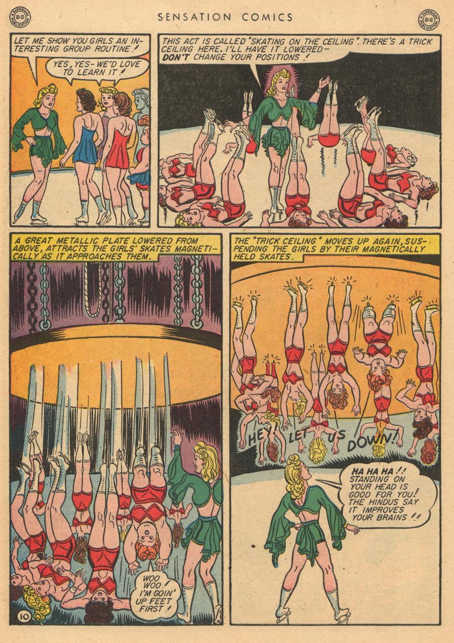 Read online Sensation (Mystery) Comics comic -  Issue #36 - 12