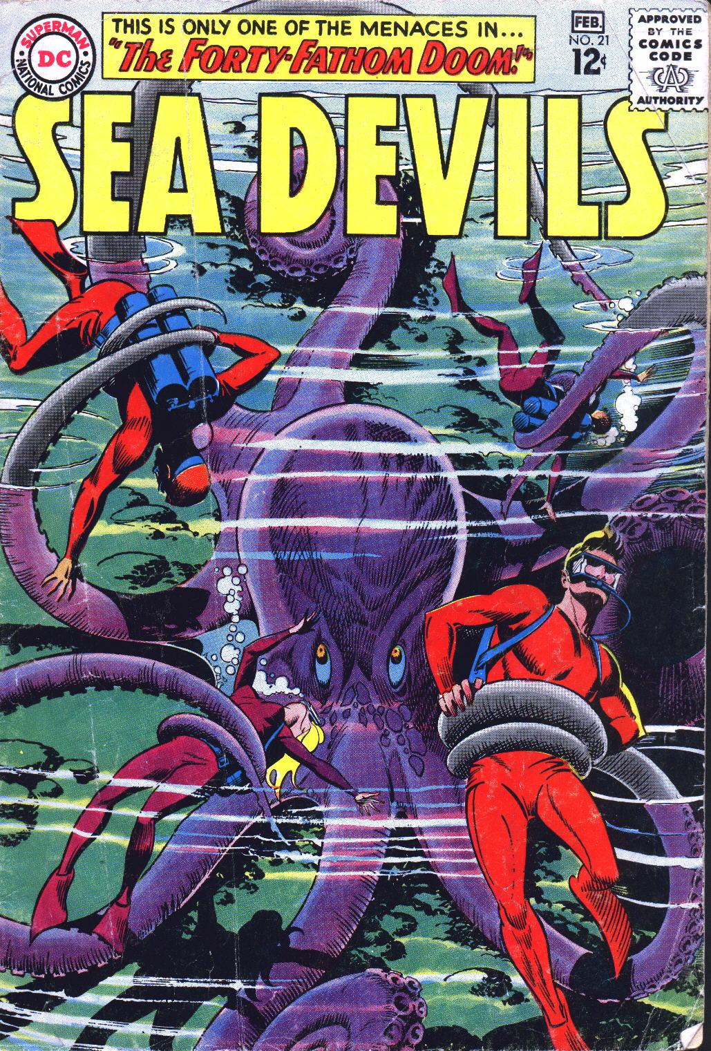 Read online Sea Devils comic -  Issue #21 - 1
