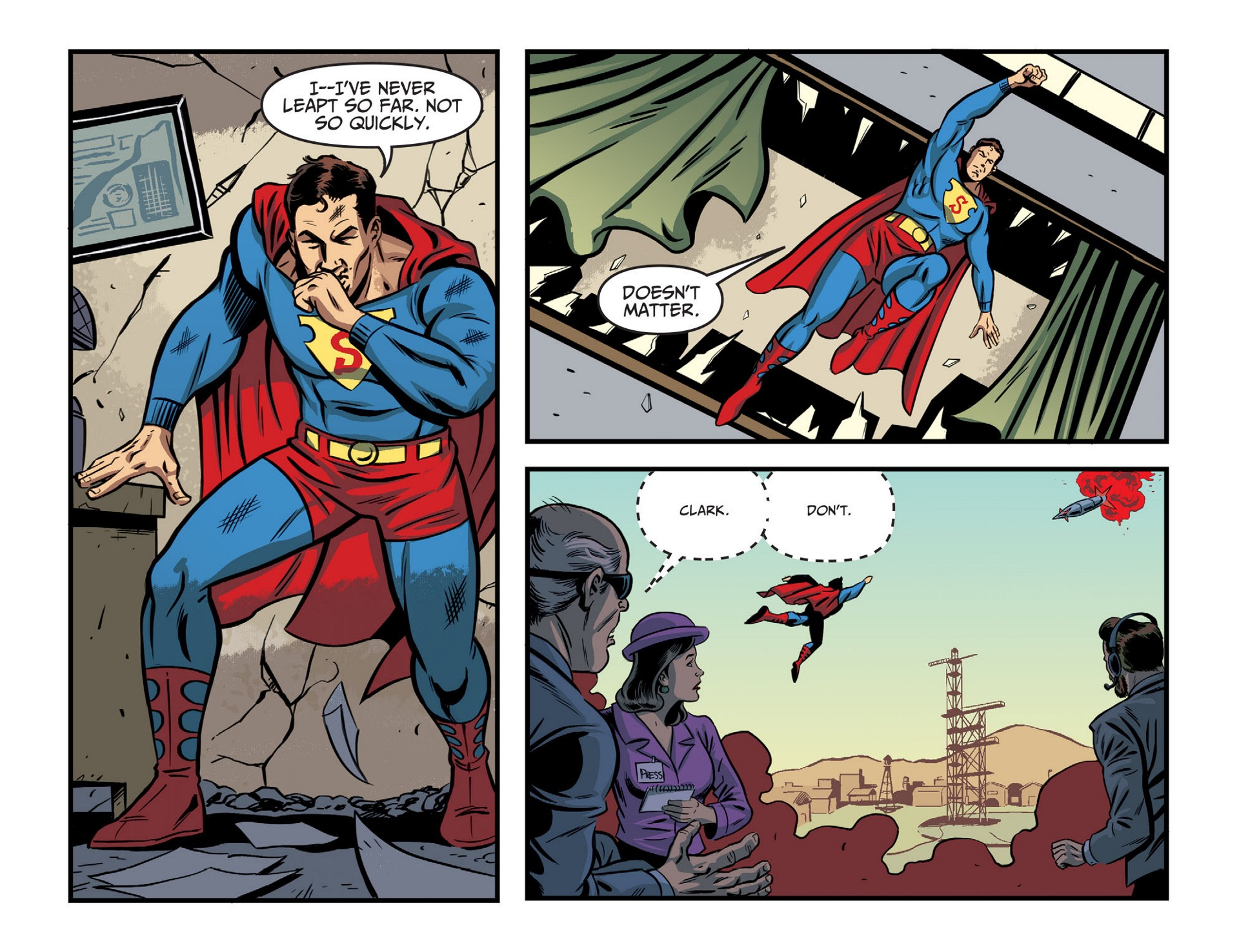 Read online Adventures of Superman [I] comic -  Issue #46 - 16