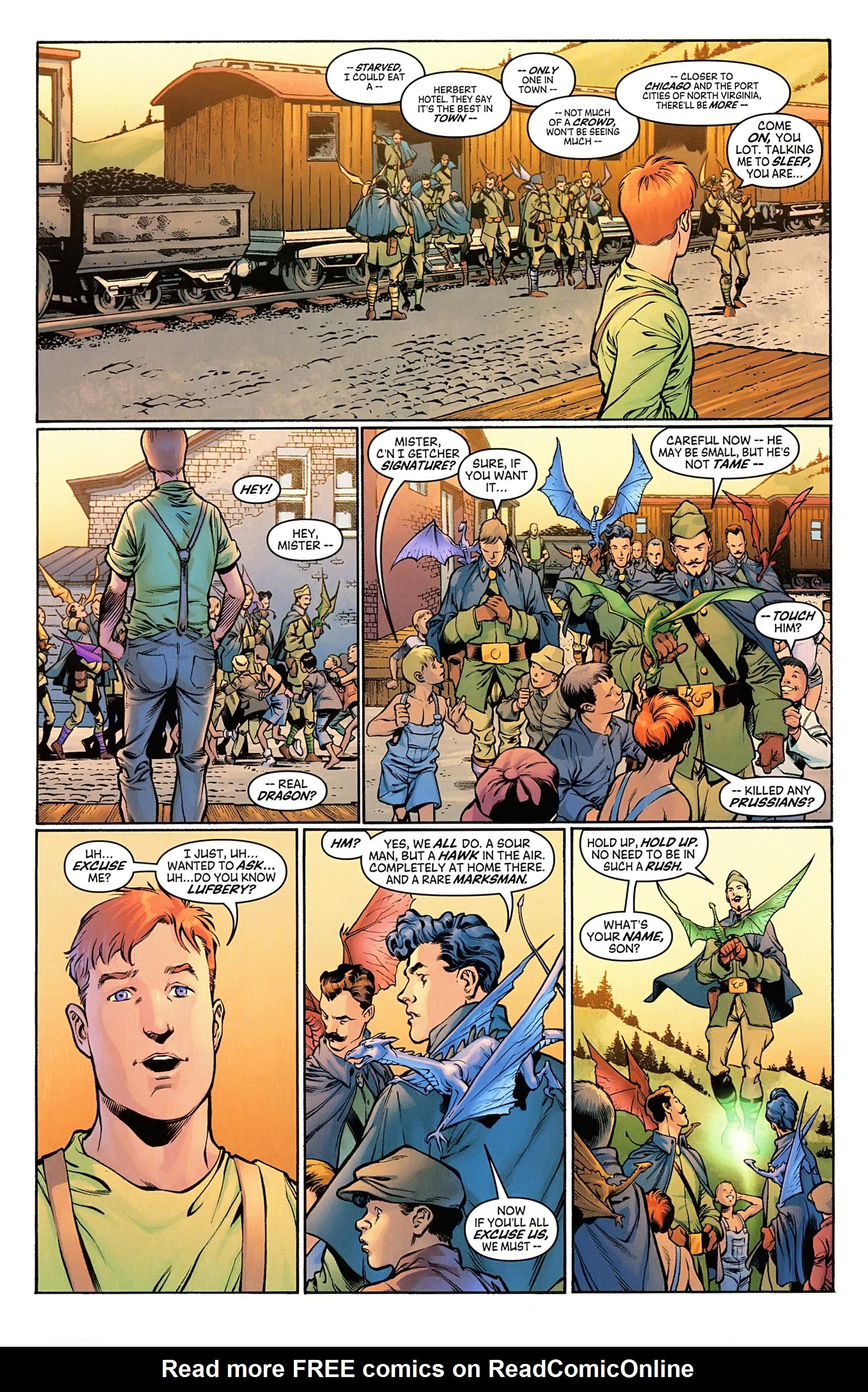 Read online Arrowsmith comic -  Issue #1 - 10