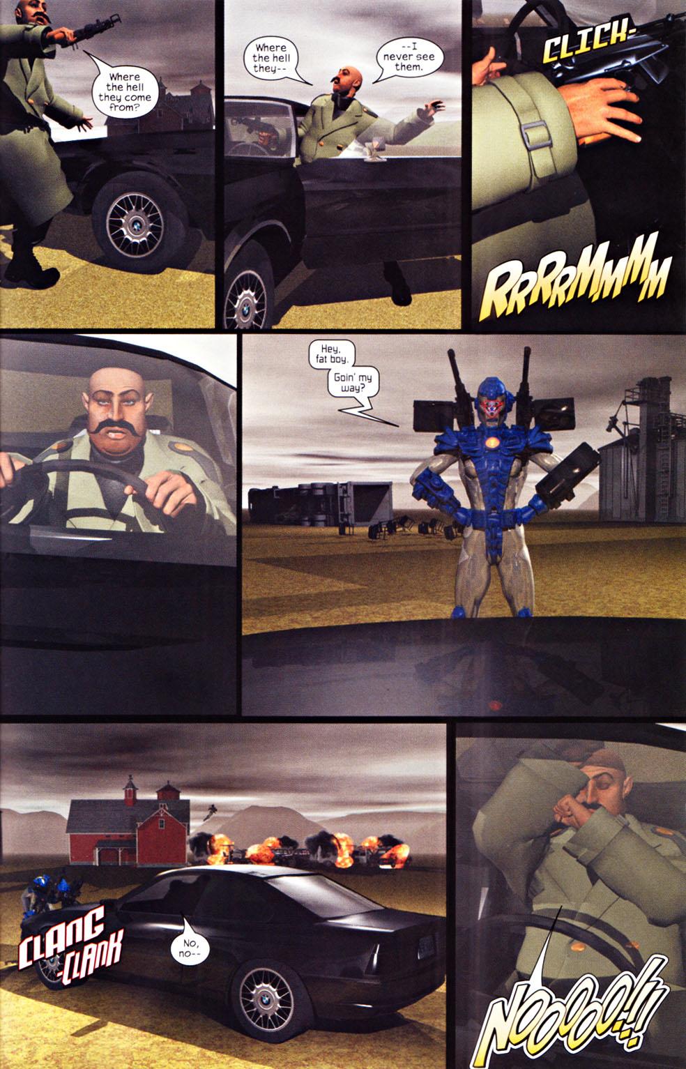Read online U.S. War Machine 2.0 comic -  Issue #1 - 21
