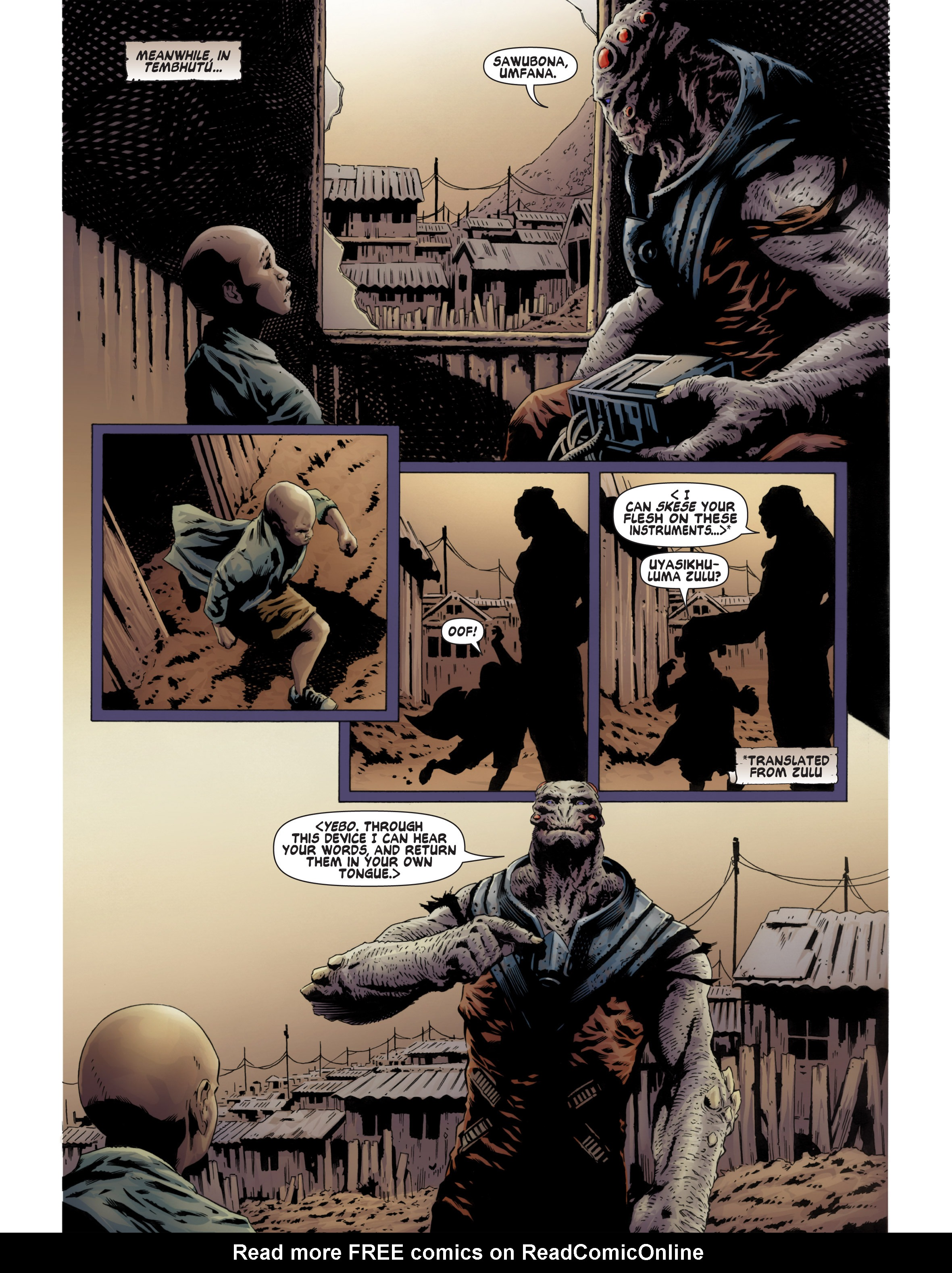 Read online Bad Planet comic -  Issue # TPB - 73